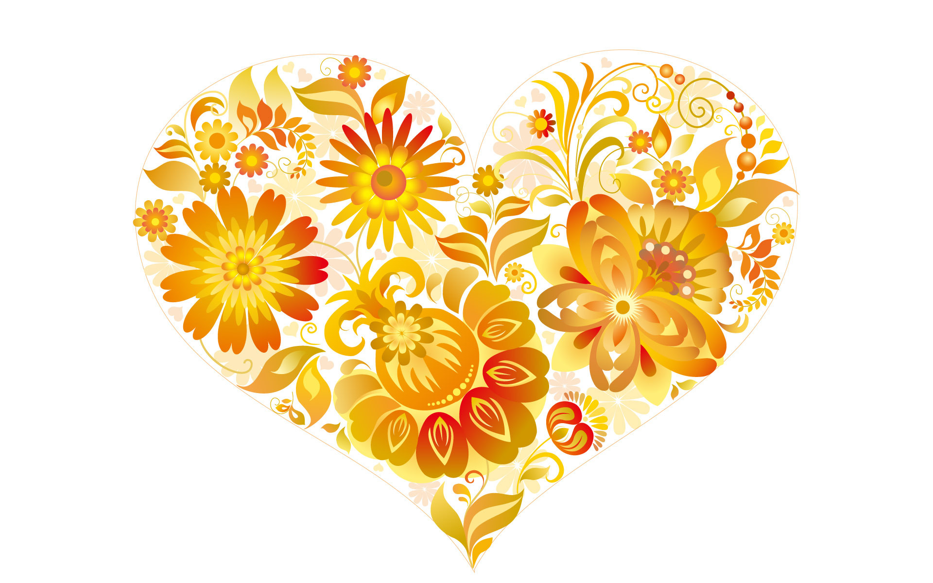 Abstract Wallpaper Images Of Love Flowers Wallpaper