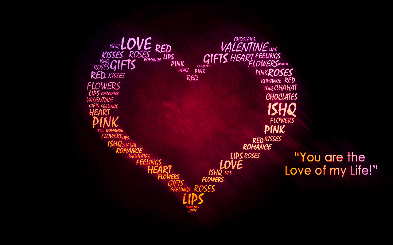 Abstract 3d 3d Wallpaper Of Love Quotes #7573 Hd Wallpapers Background - HDesktops.com