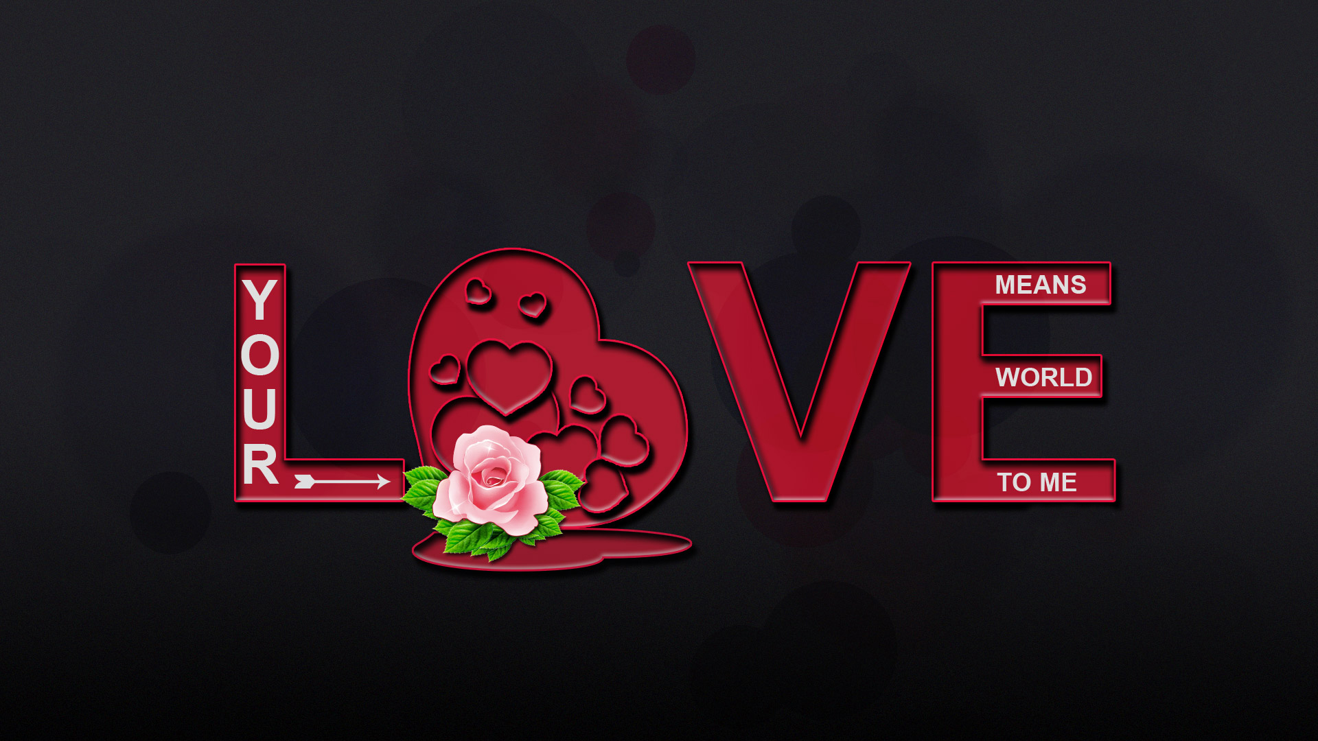 Lovely Love Desktop Wallpaper : Abstract 3d Lovely Wallpaper Of Love Quotes #7601 Hd Wallpapers Background - HDesktops.com