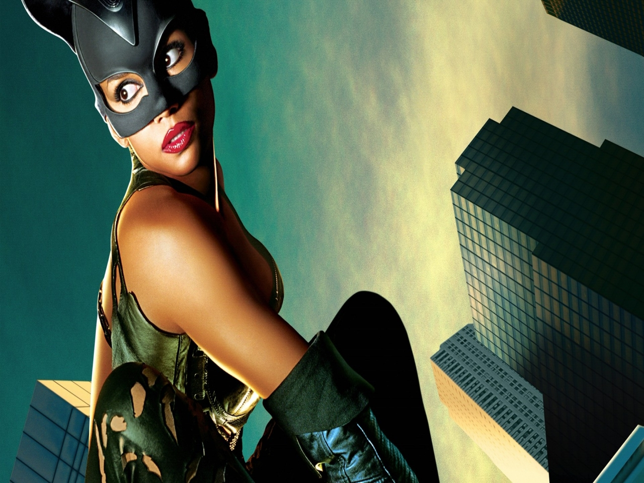 Abstract Apple Catwoman Dark Knight Hd Wallpaper 2560×1440 Wallpaper