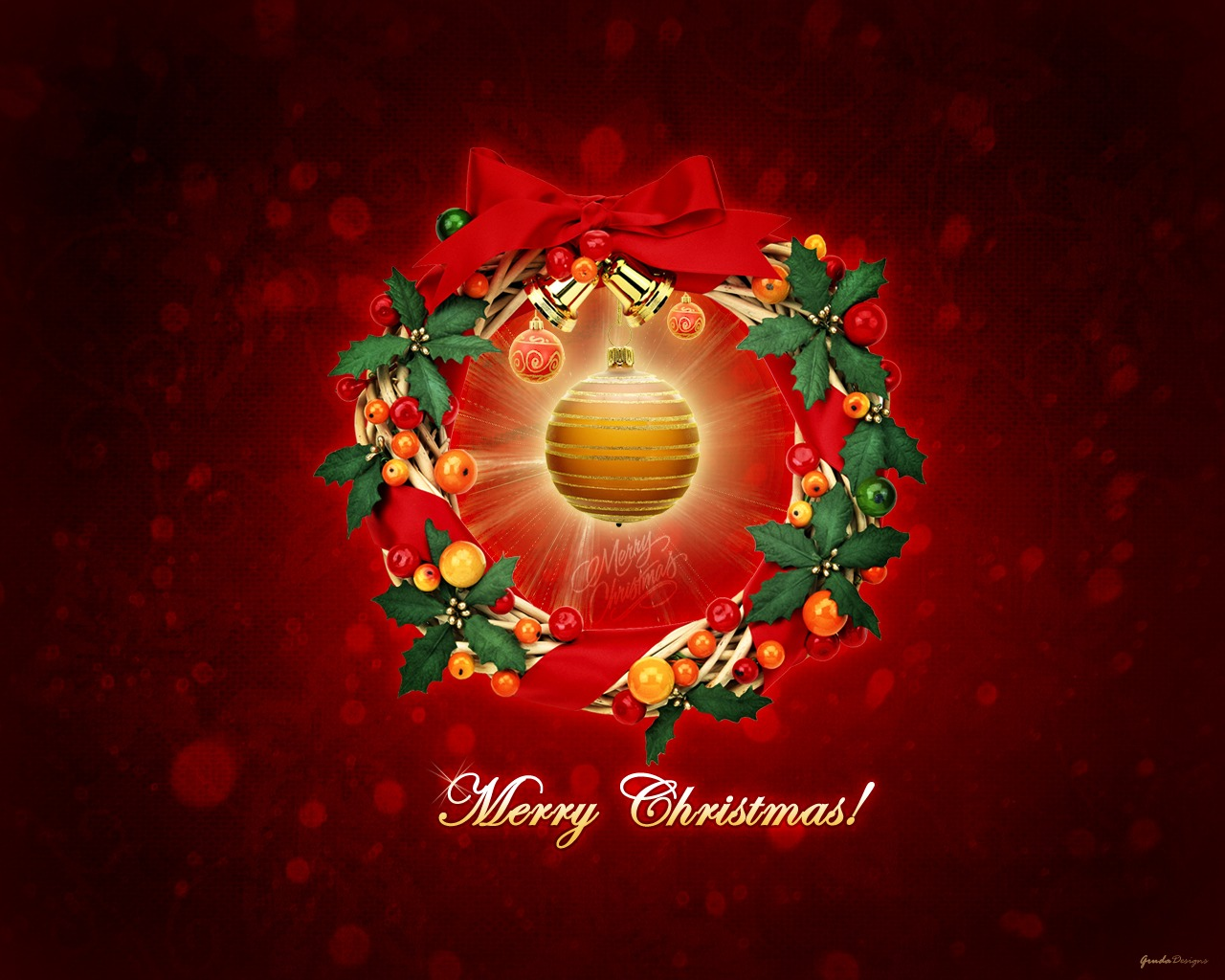 Abstract Christmas Hd Wallpaper 2560×1600 Wallpaper