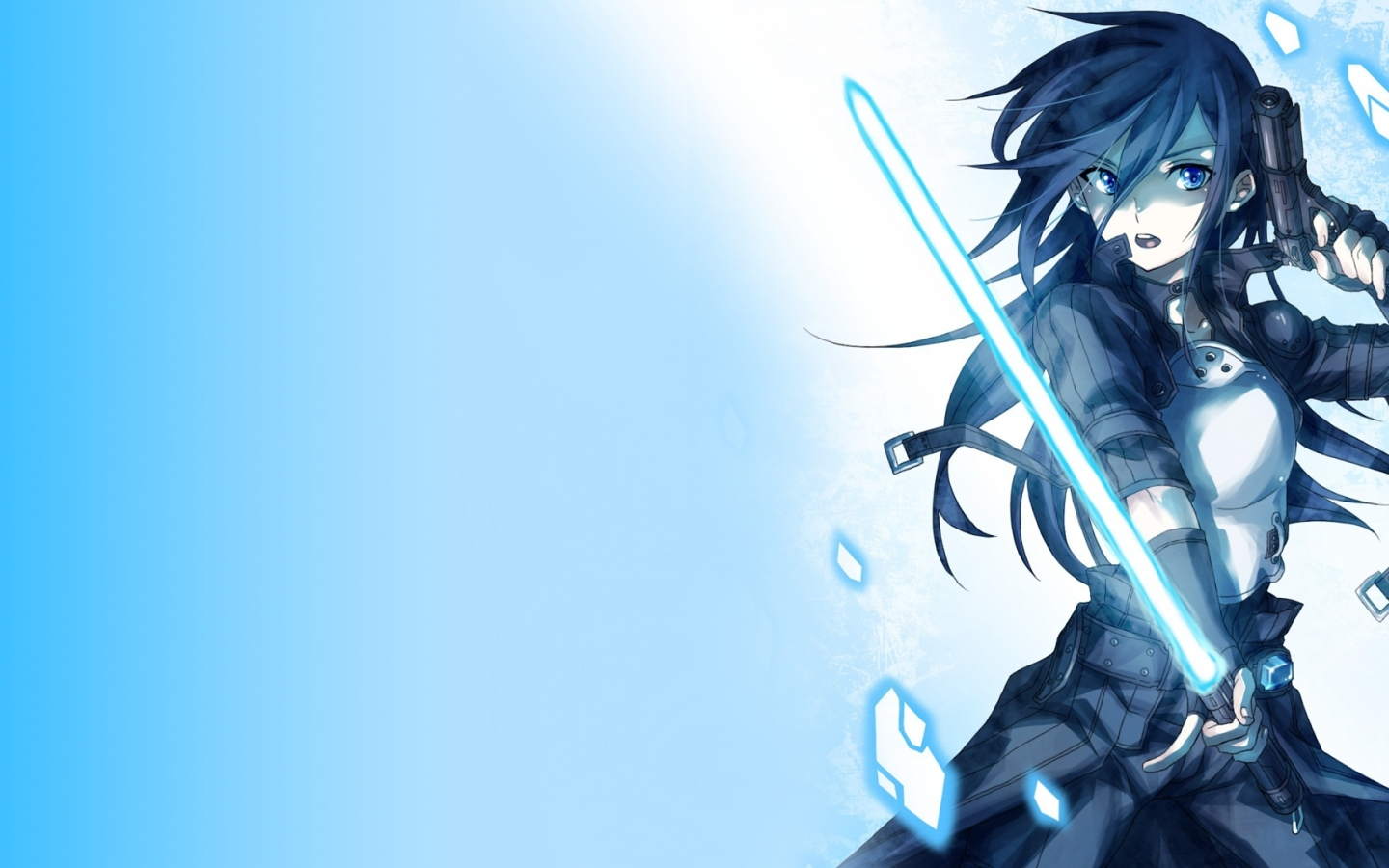 Abstract Desktop Sword Art Online Wallpaper 2560×1440 Wallpaper