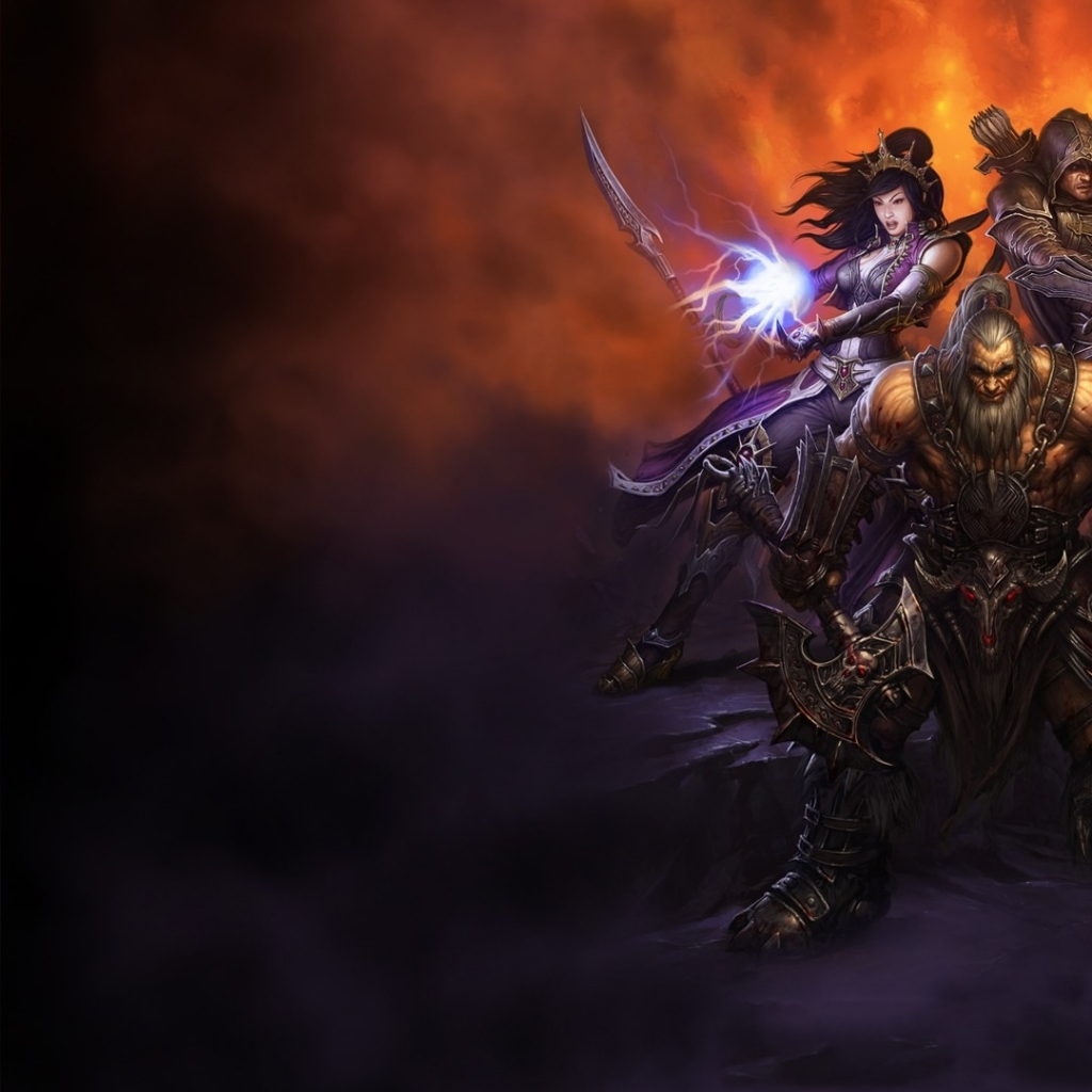 Diablo 3 Wallpaper 1920x1080: Abstract Diablo Diablo 3 Wallpaper 720p #7681 Hd