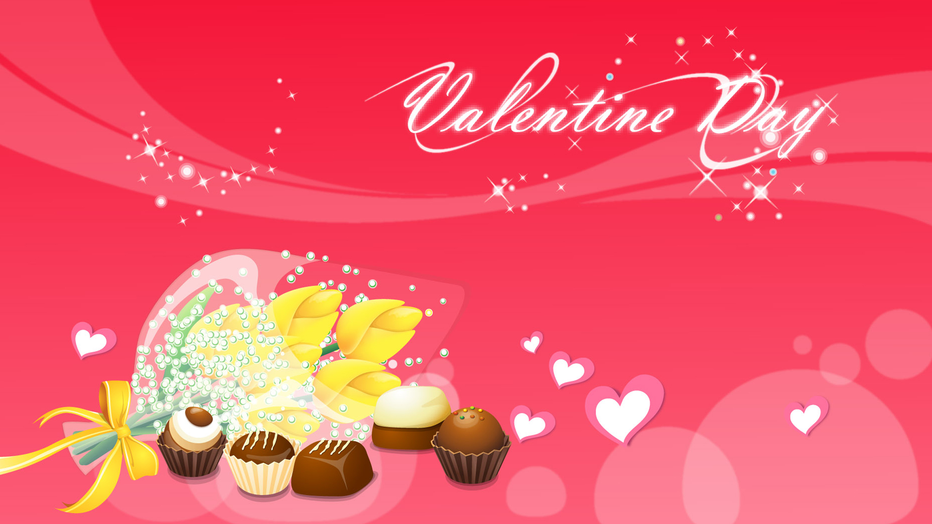 Abstract Free Beautiful Valentines Day Wallpaper Wallpaper