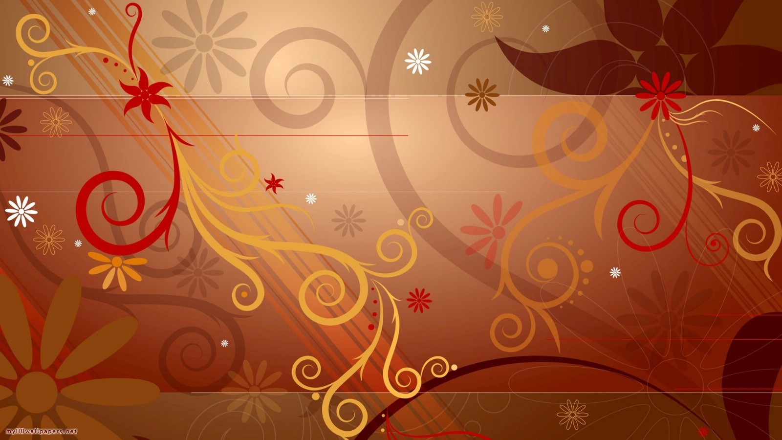 Abstract Free Desktop Fall Wallpaper 1600 X 900 Wallpaper