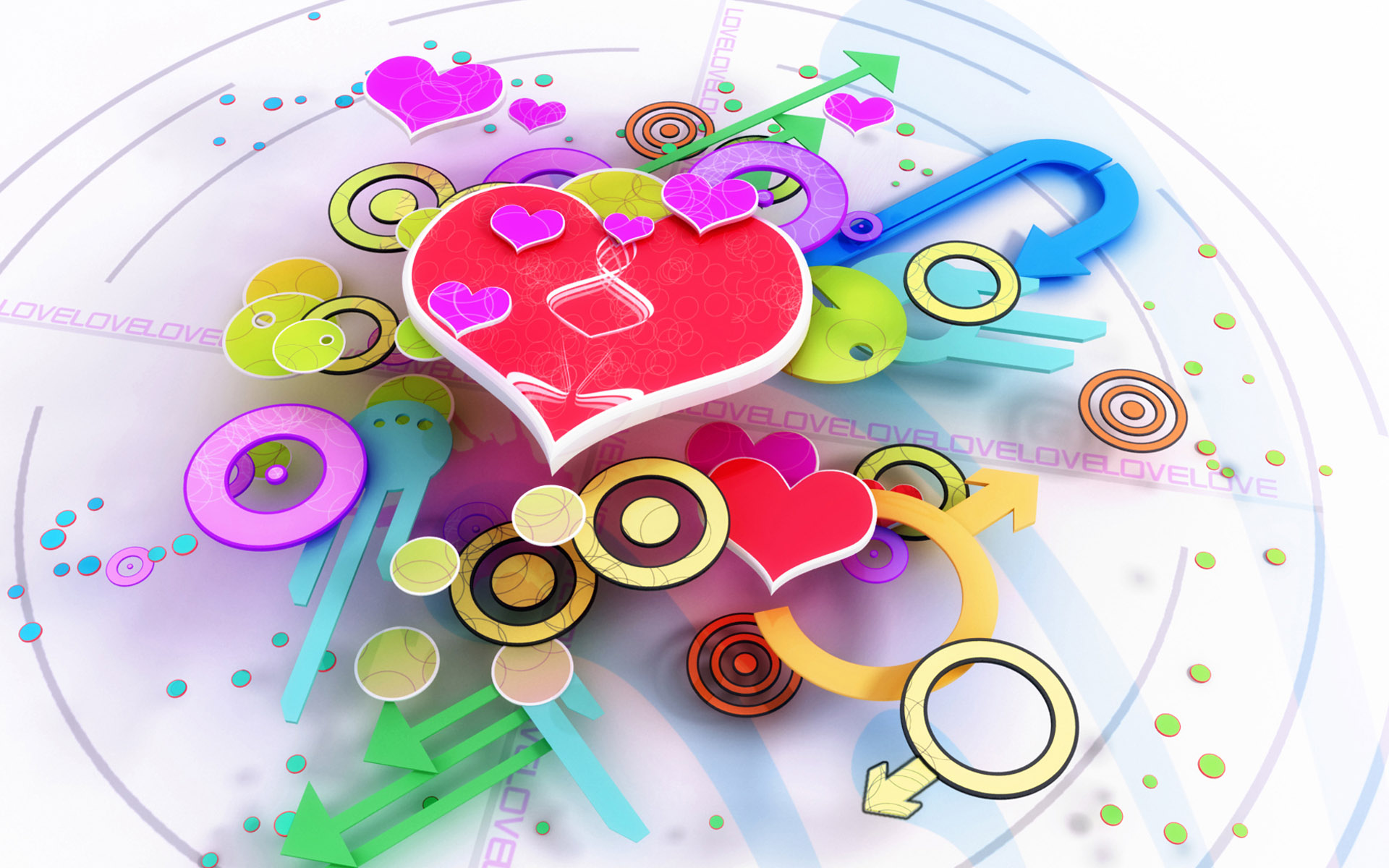 Abstract Free Wallpaper Photos Of Love And Hearts Wallpaper