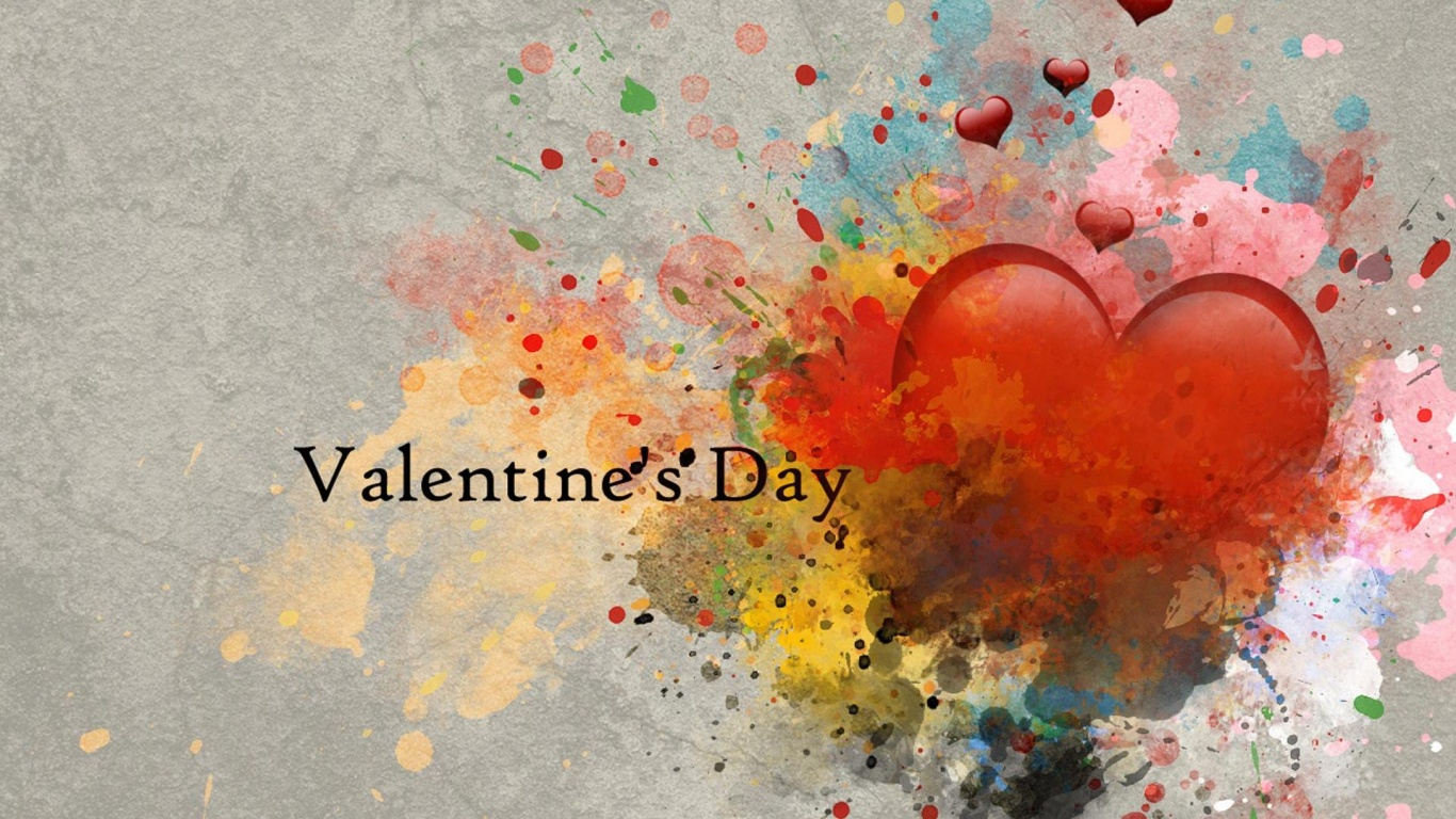 Abstract Hd Valentines Day Wallpapers Wallpaper