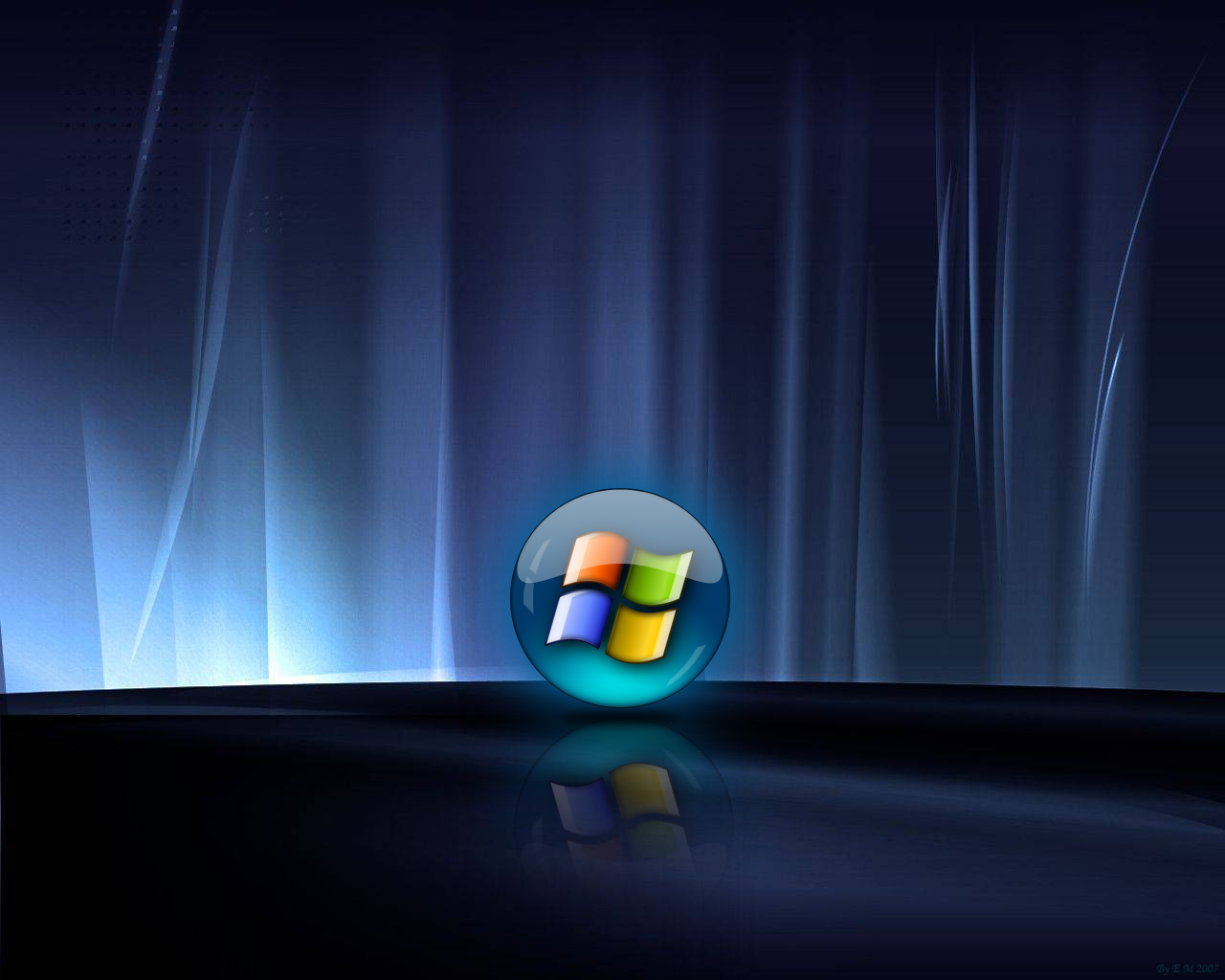 Abstract Microsoft Windows Wallpaper Vista Wallpaper