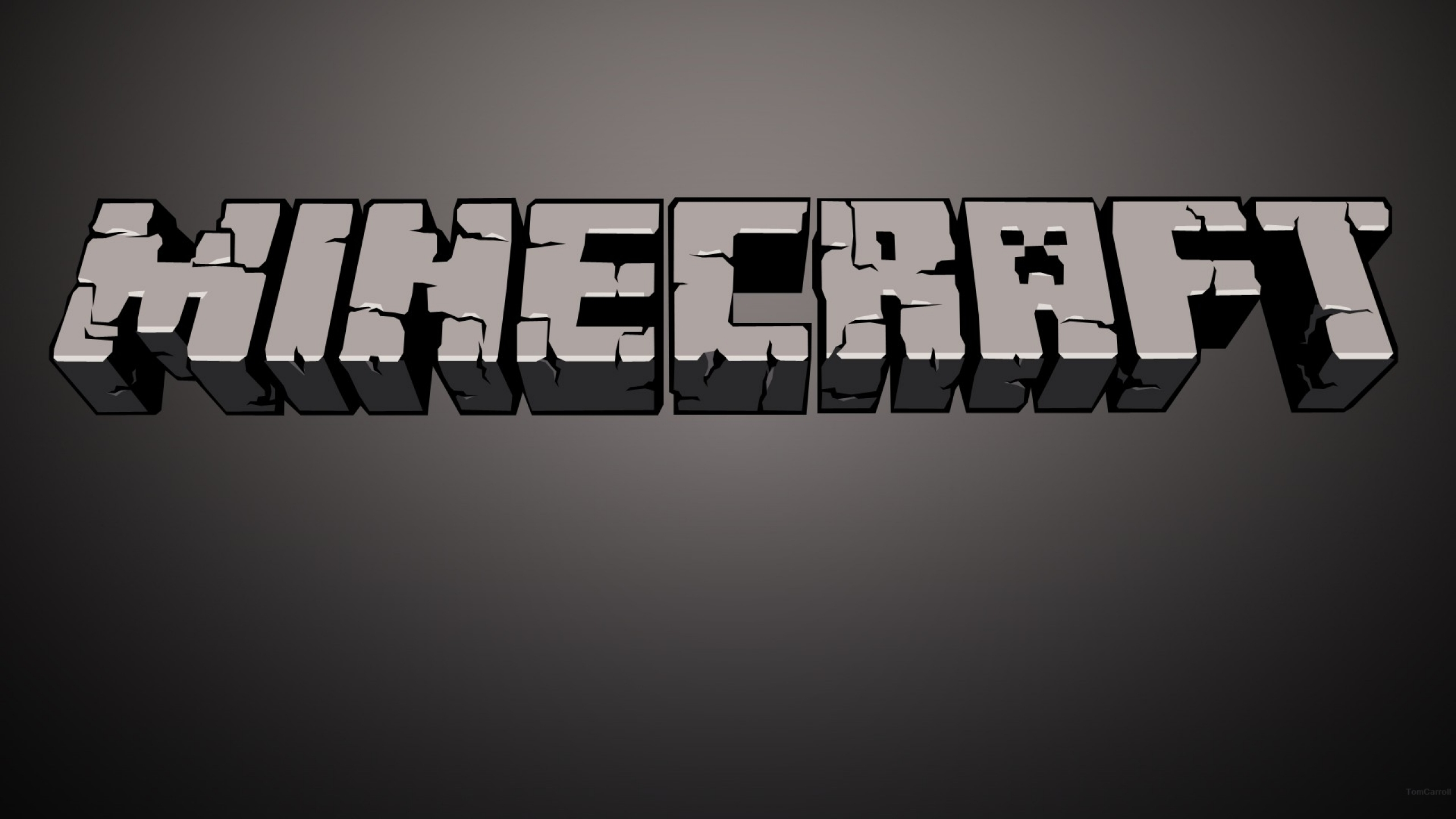 Abstract Minecraft Hd Wallpaper 2560×1440 Wallpaper
