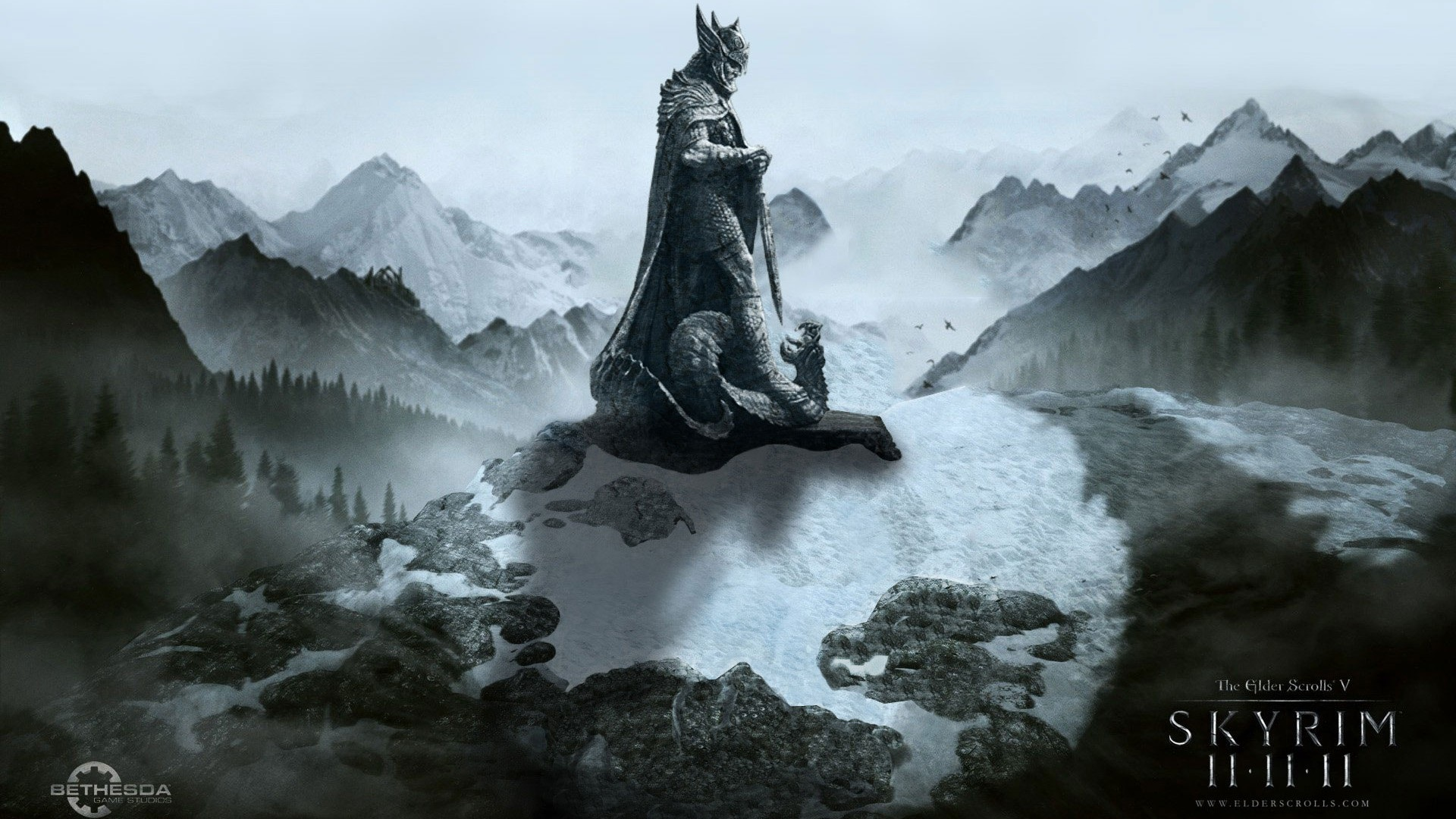 Abstract Skyrim Desktop Wallpaper 2560×1600 Wallpaper