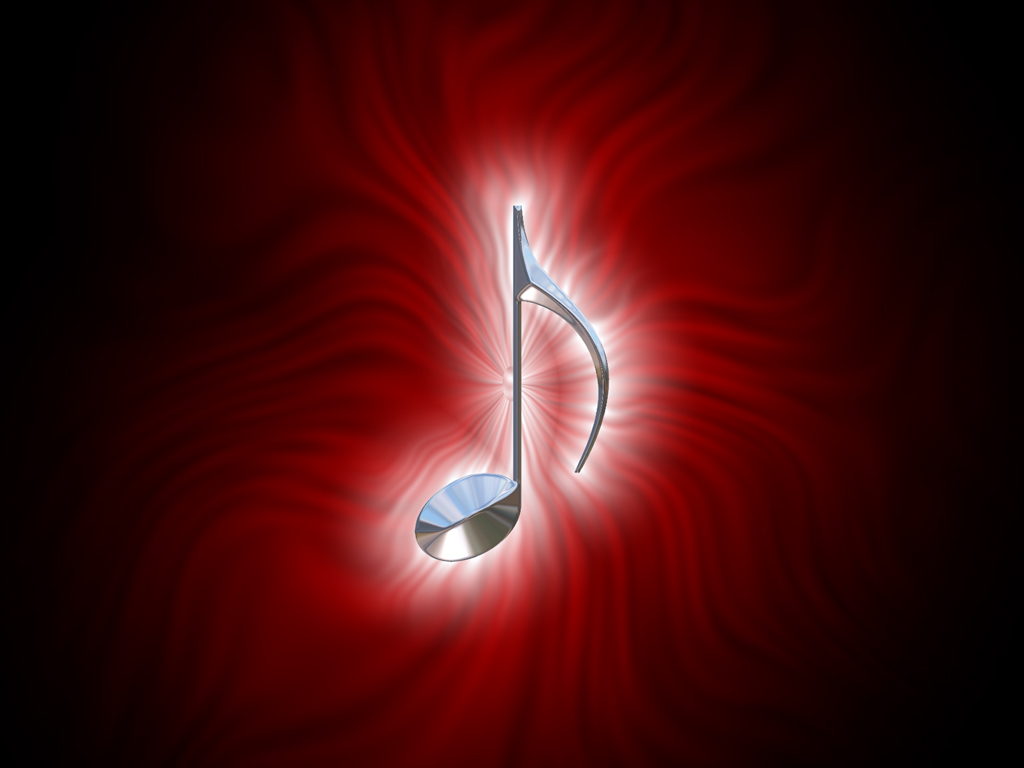 Red Music Wallpaper Black And