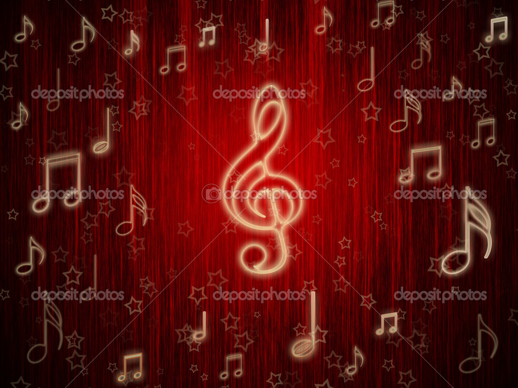 Abstract Wallpaper Picture Of Music Symbols Wallpaper