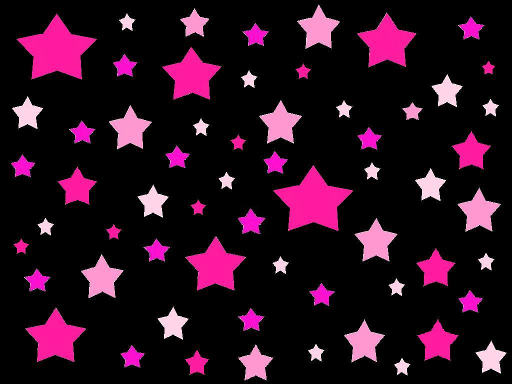 abstract wallpaper pink and black stars 6616 hd