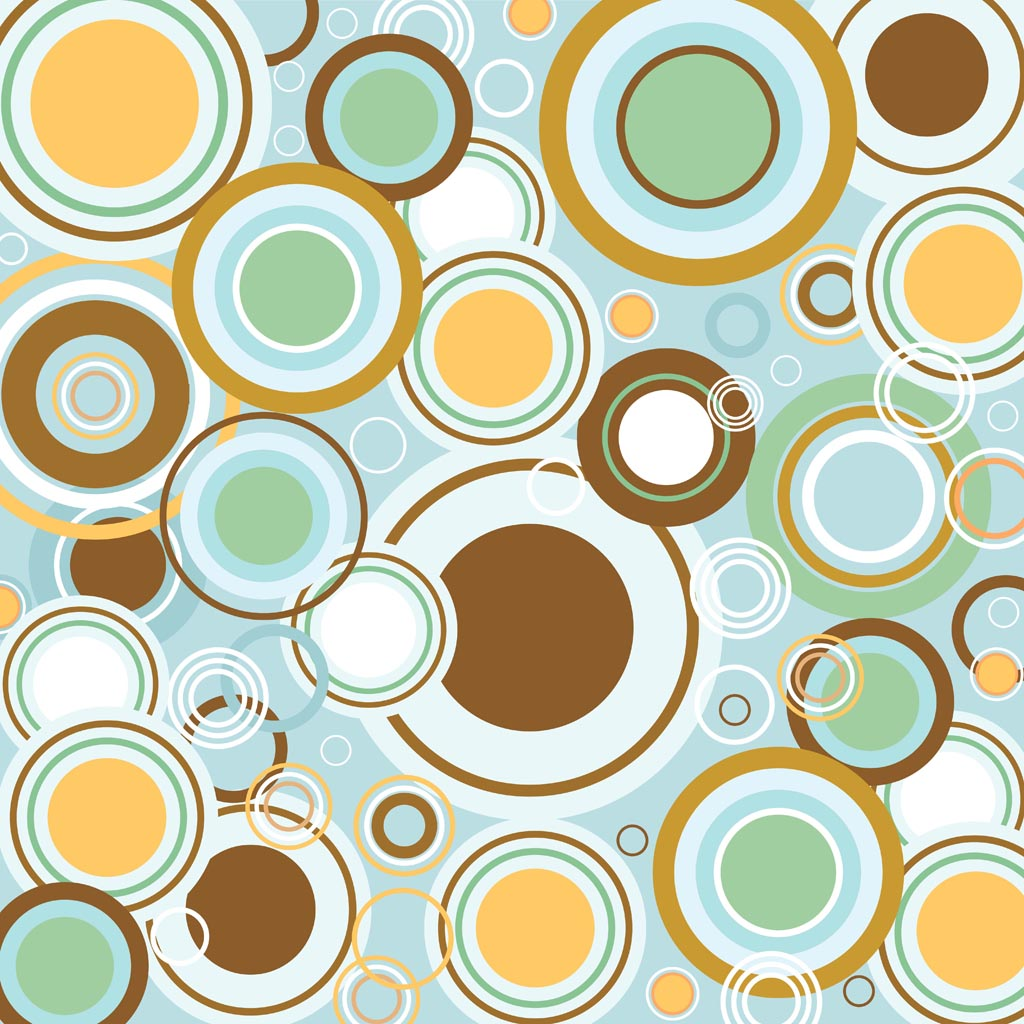 Abstract Wallpaper Retro Style Refrigerator Wallpaper