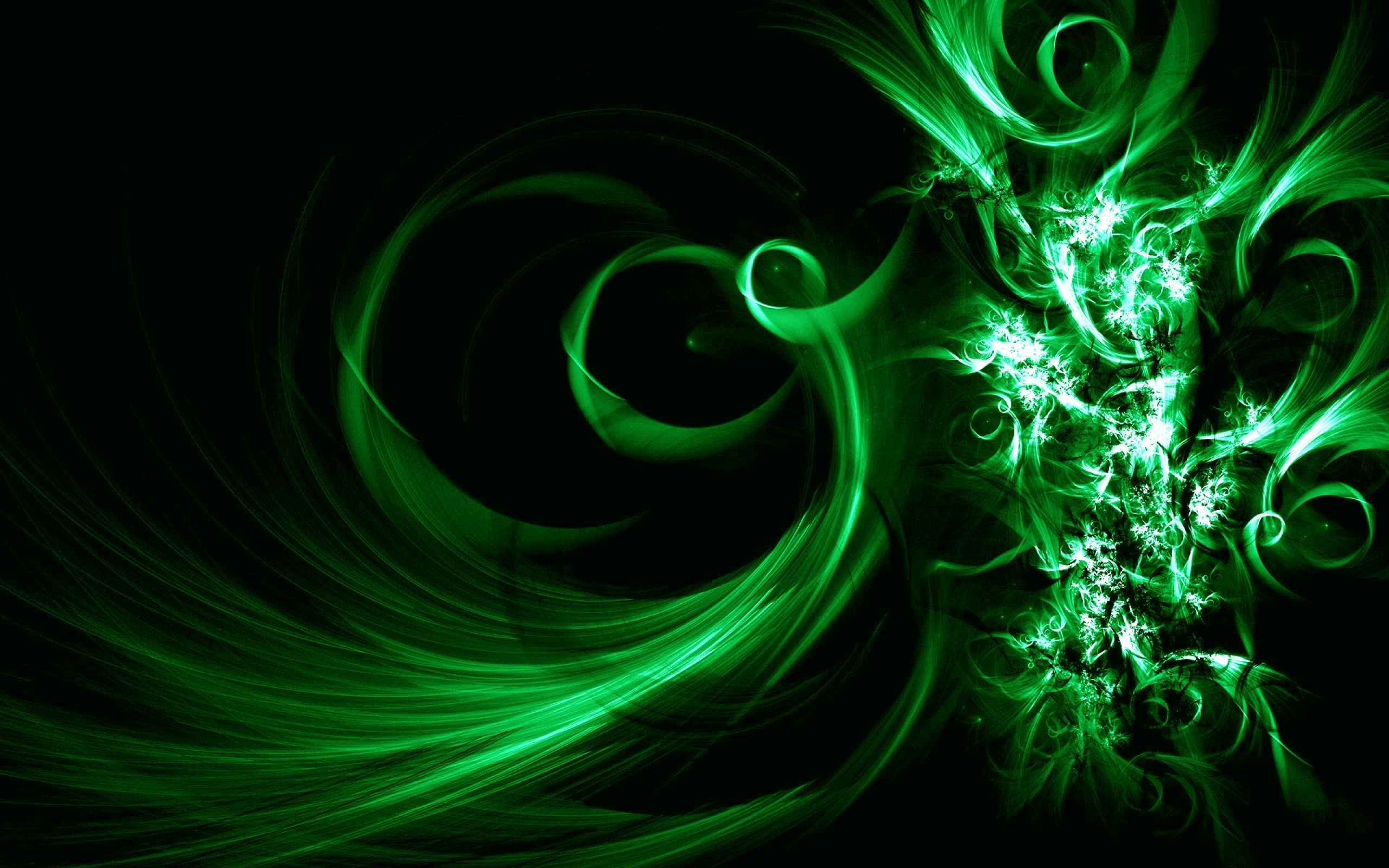 Free Green Free Dark Abstract Wallpaper Downloads Wallpaper