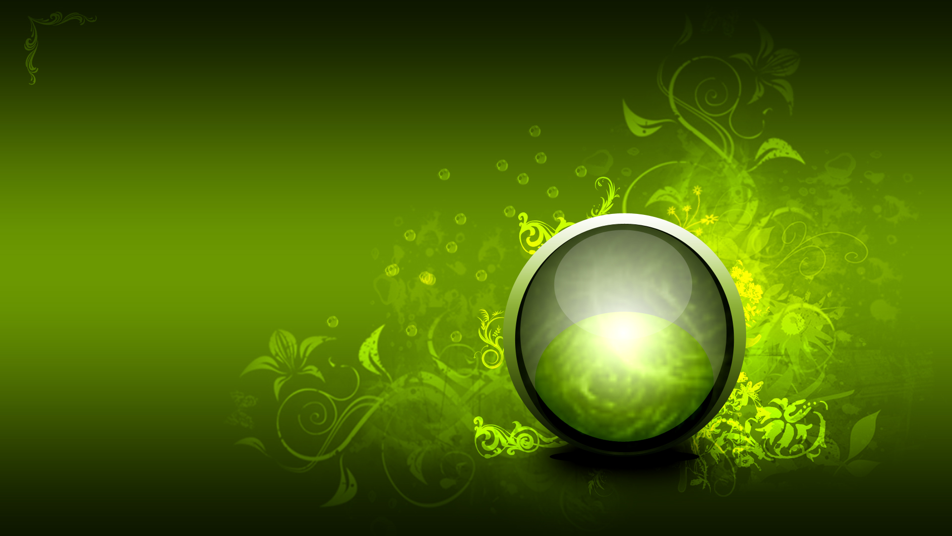 green background hd 3d - photo #19