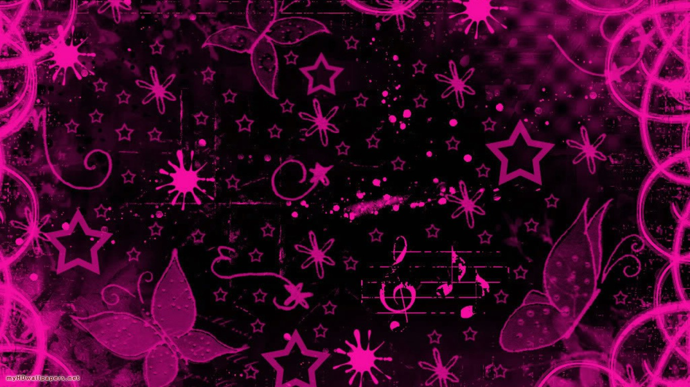 I Love You 3d Pink Abstract Wallpaper Wallpaper