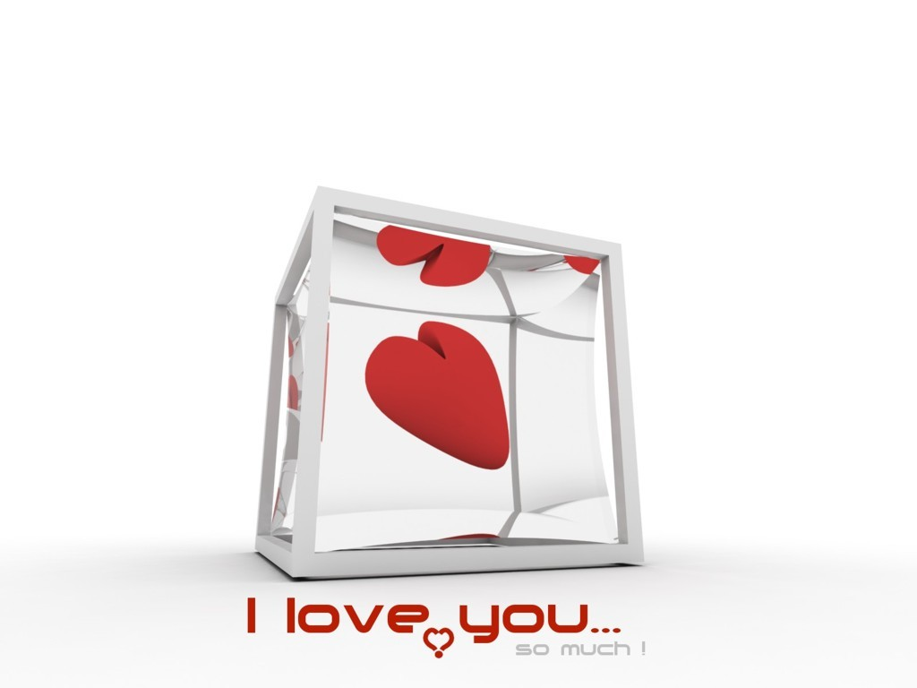 I Love You Best Abstract Wallpapers Wallpaper