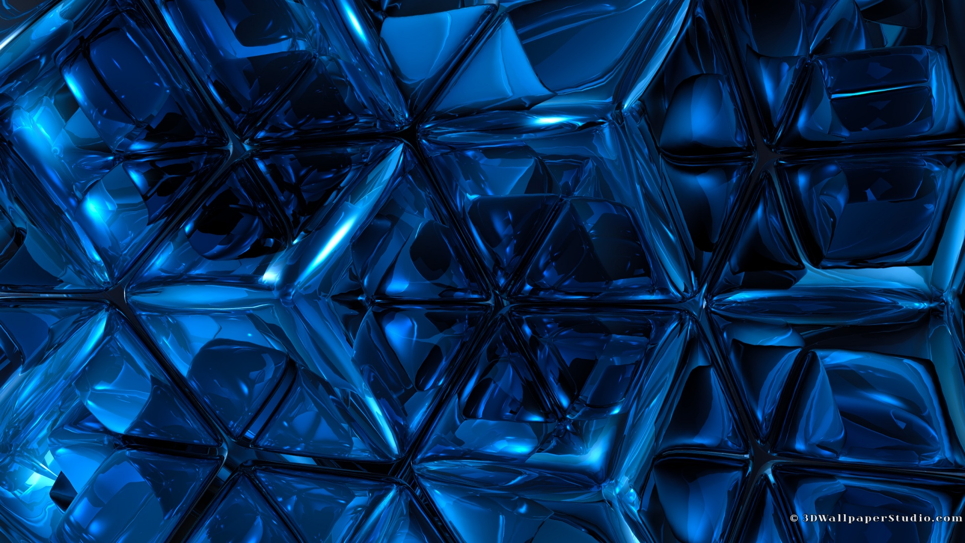Mac Os X Blue Abstract Wallpapers Wallpaper