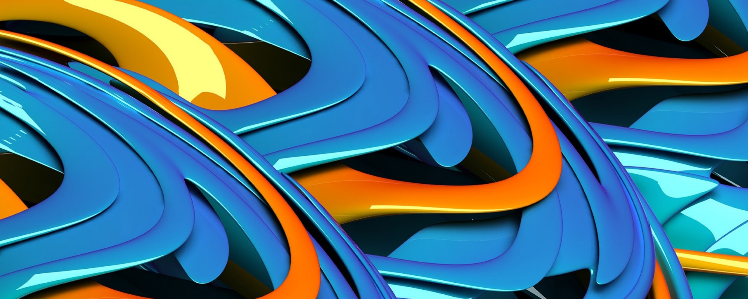Ps Vita 3d Blue Abstract Wallpaper Wallpaper