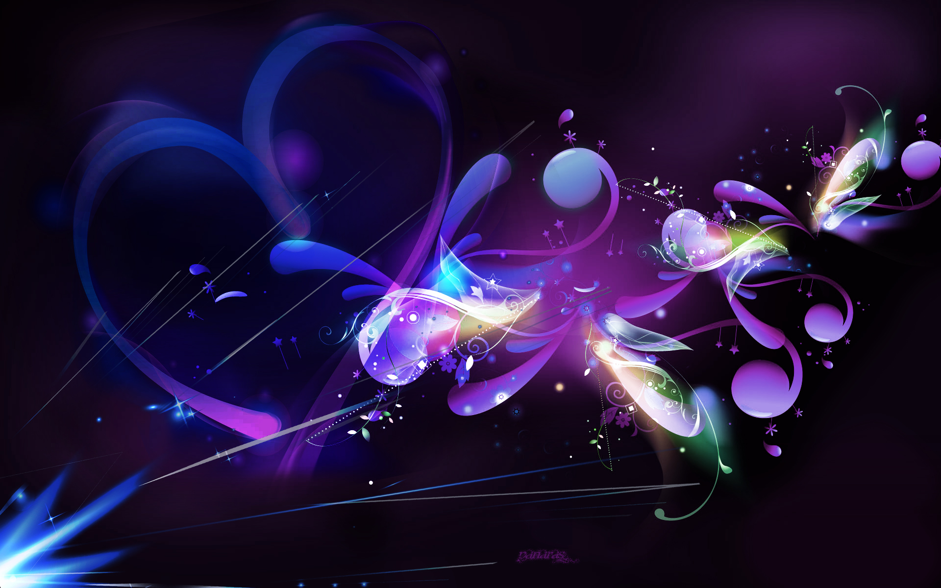 Purple Beautiful Beautiful Abstract Wallpaper Desktop Wallpaper