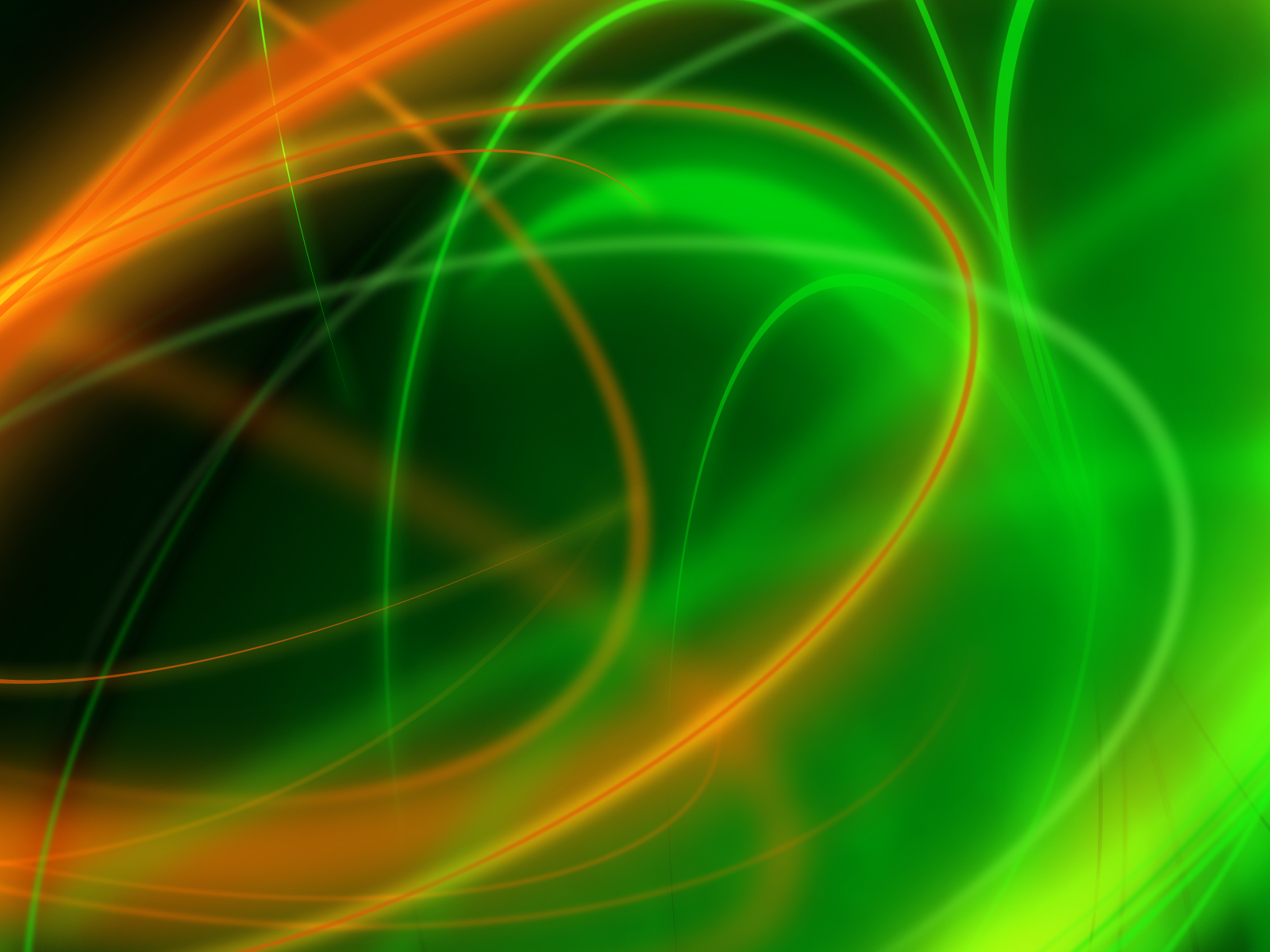 Ubuntu Apple Green Abstract Wallpaper Wallpaper