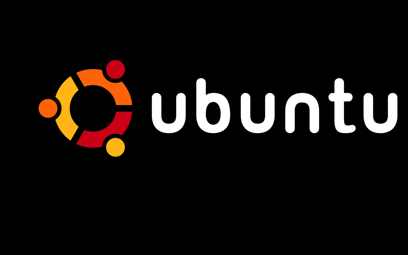 Ubuntu Black And Pink Abstract Wallpaper Wallpaper