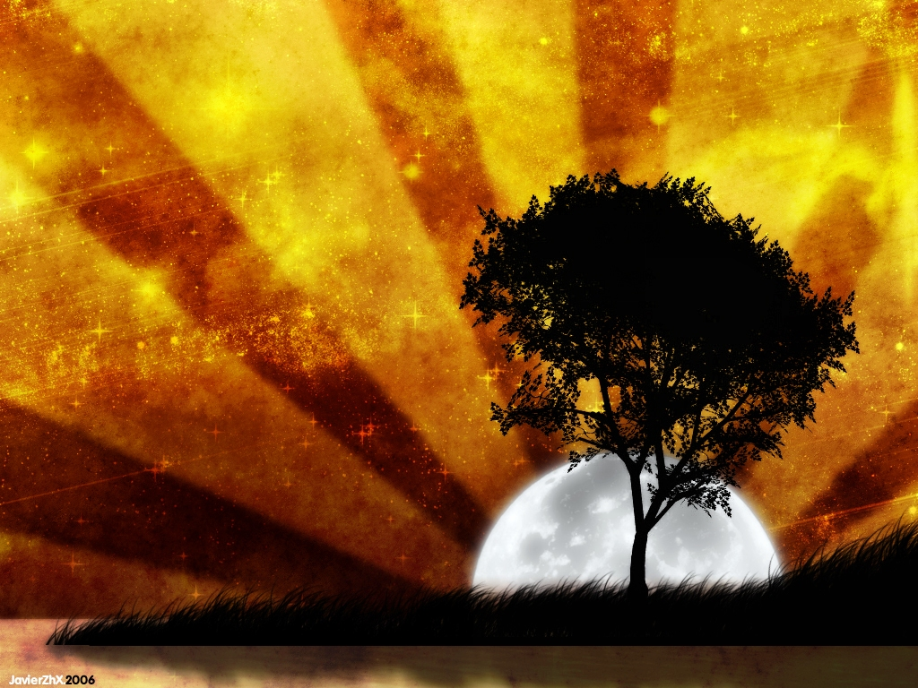 Wallpaper Pictures Of Abstract Trees Wallpaper