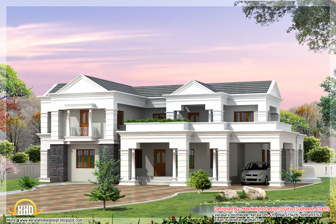 3d home designs 19763 hd wallpapers background for Kerala 3d home floor plans