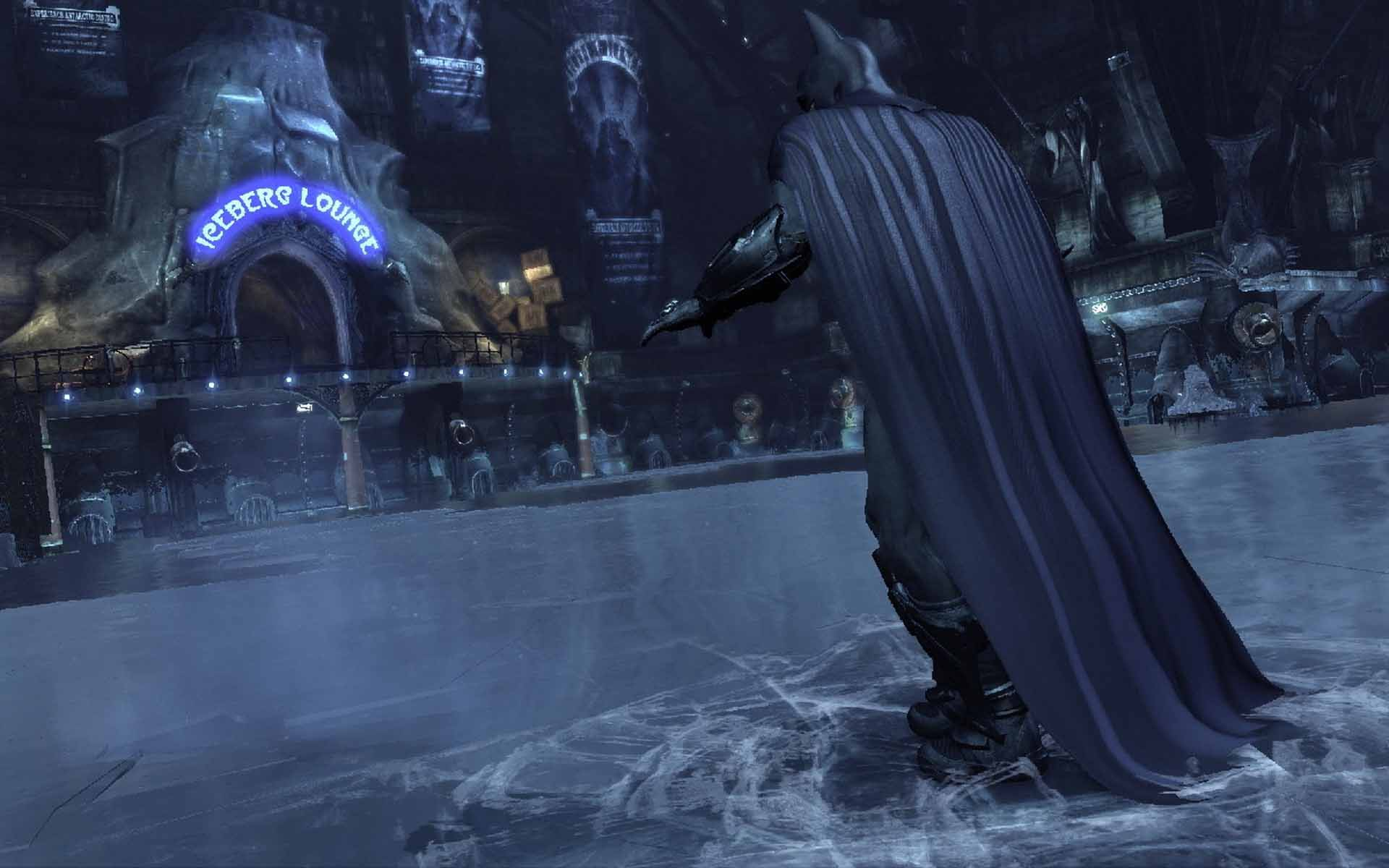 Batman Arkham Asylum Anime Hd Desktop Wallpaper 1080p Wallpaper