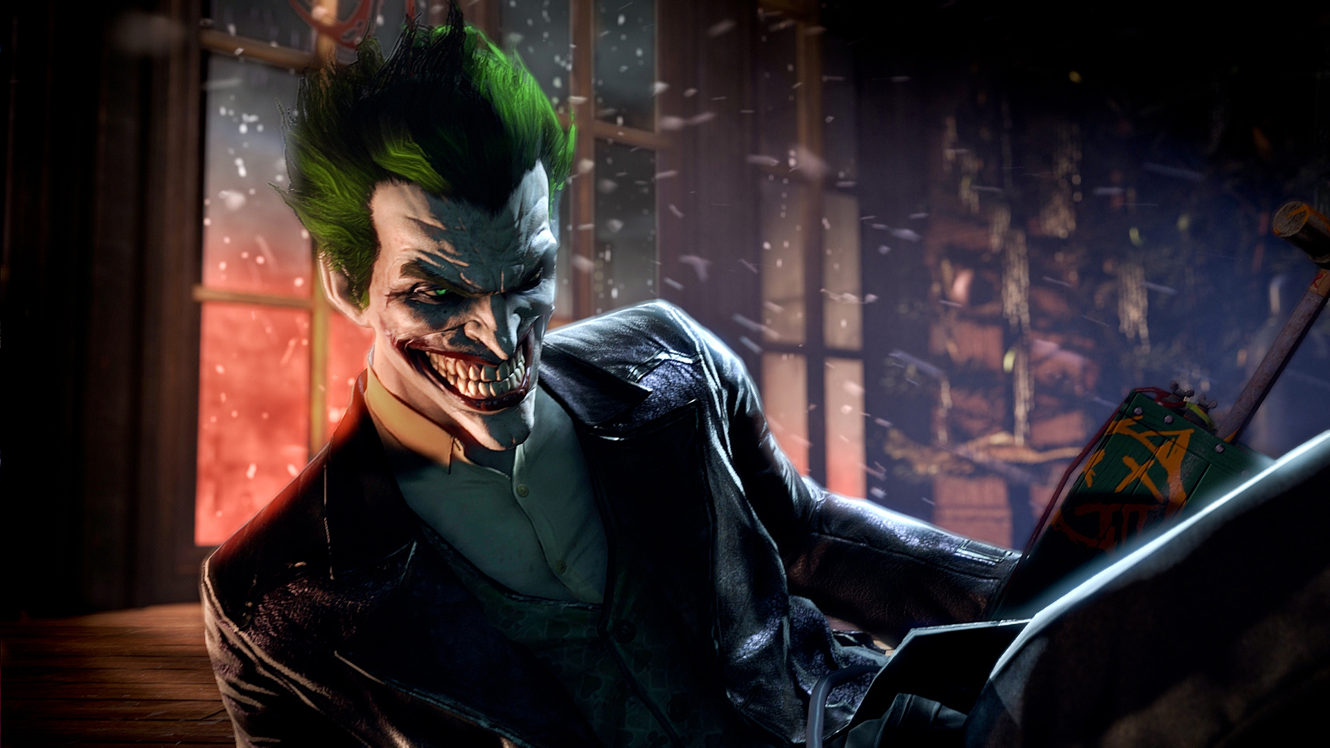 Batman Arkham Asylum Ps3 Hd Desktop Wallpaper 1080p Wallpaper