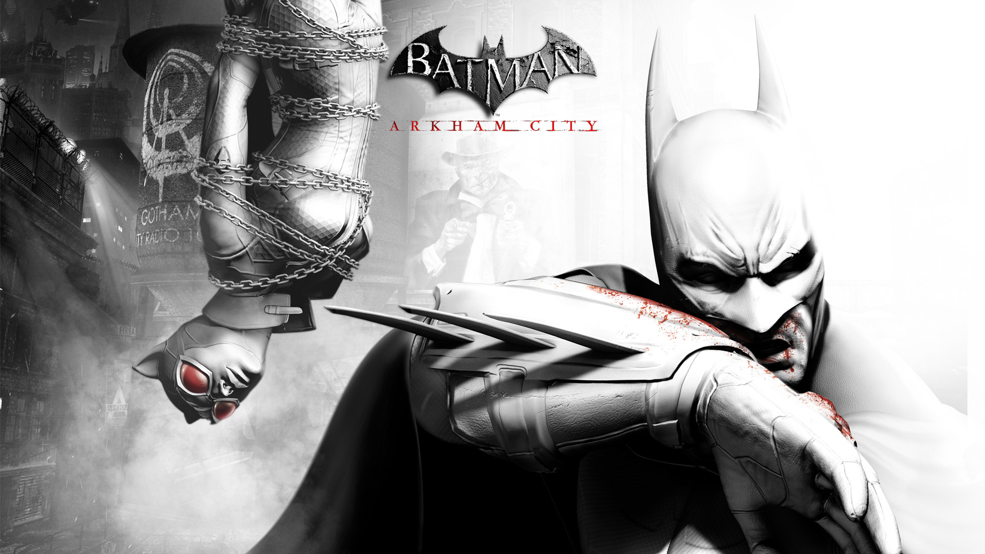 Batman Arkham City Free Wallpaper Hd 1080p Anime Wallpaper