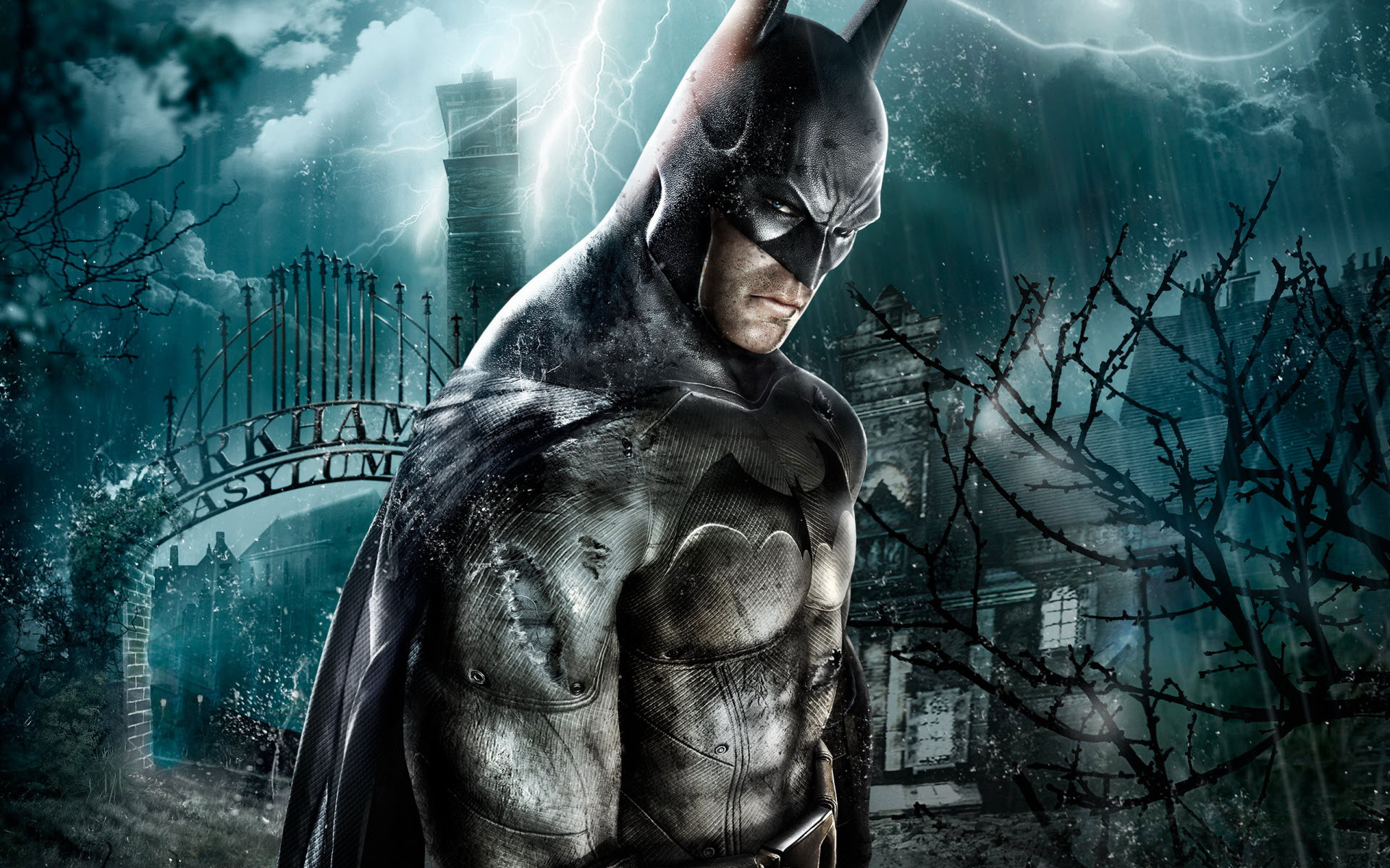 Batman Arkham City Nature Nature Wallpaper Hd 1080p Wallpaper