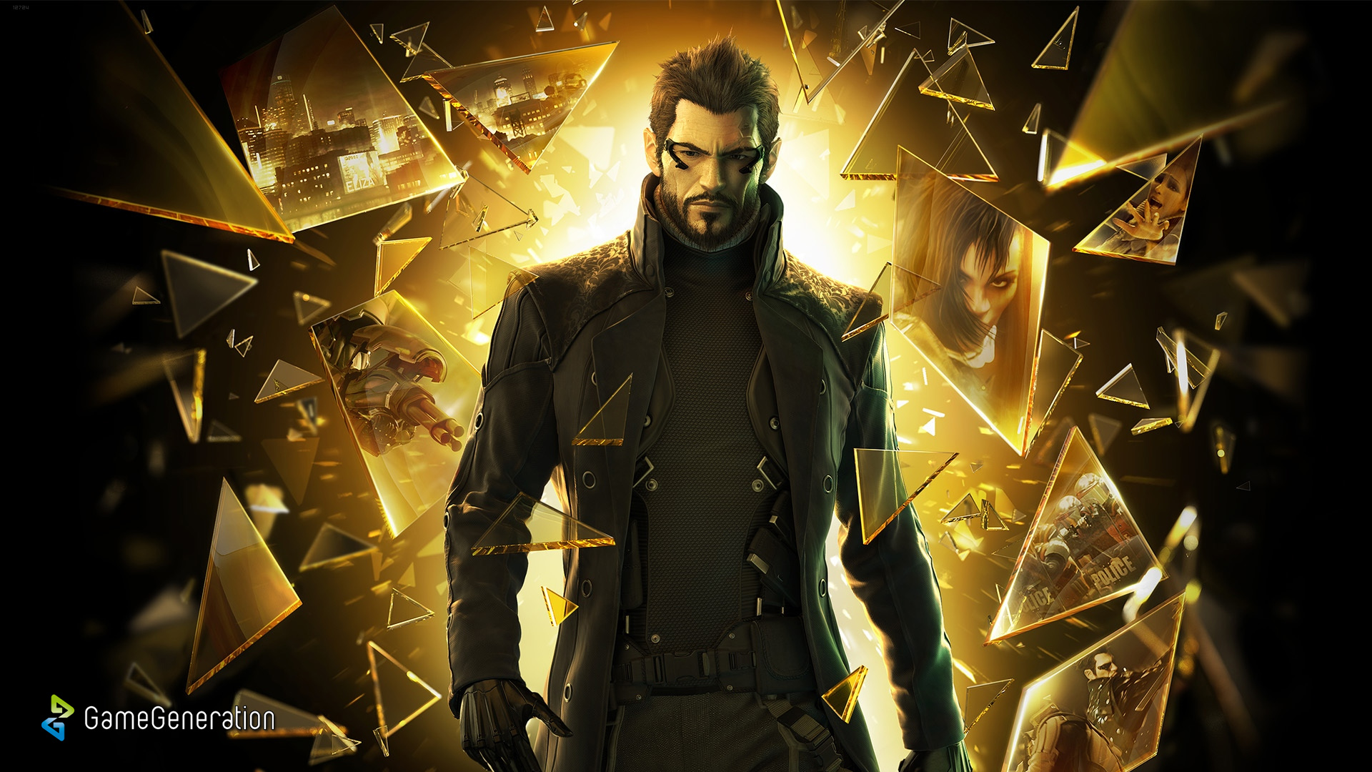 Deus Ex Human Revolution Skyrim Ps3 Wallpaper 1080p Wallpaper