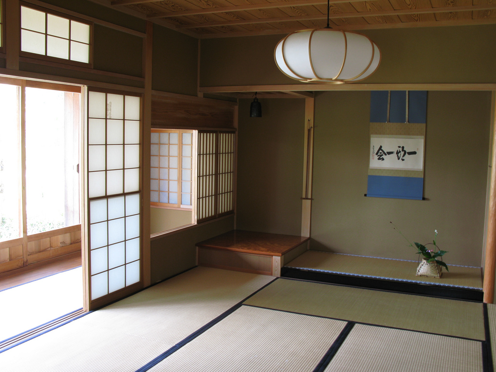 Japanese Home Design Wallpaper