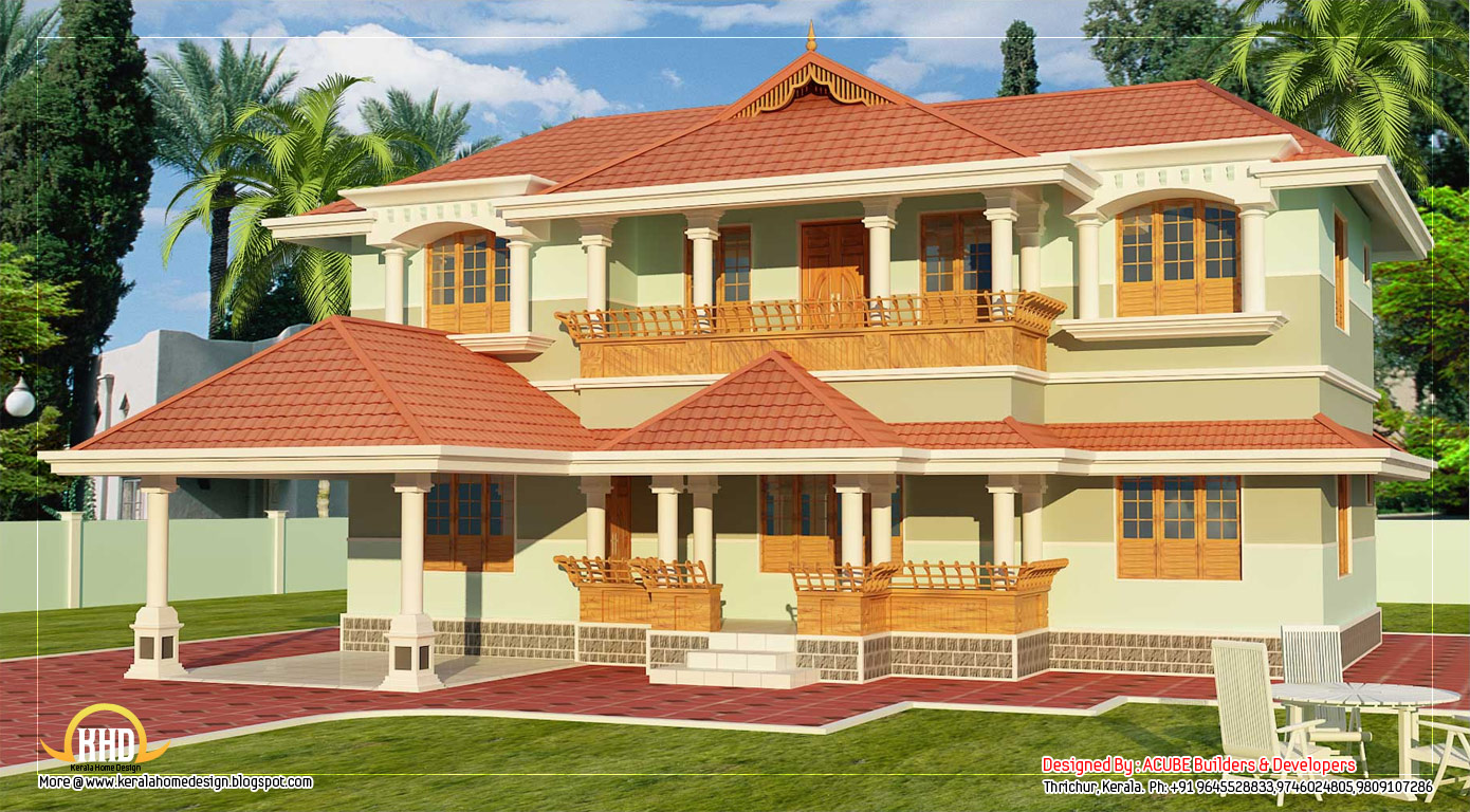 Kerala home design 18423 hd wallpapers background for Kerala house plans 2014