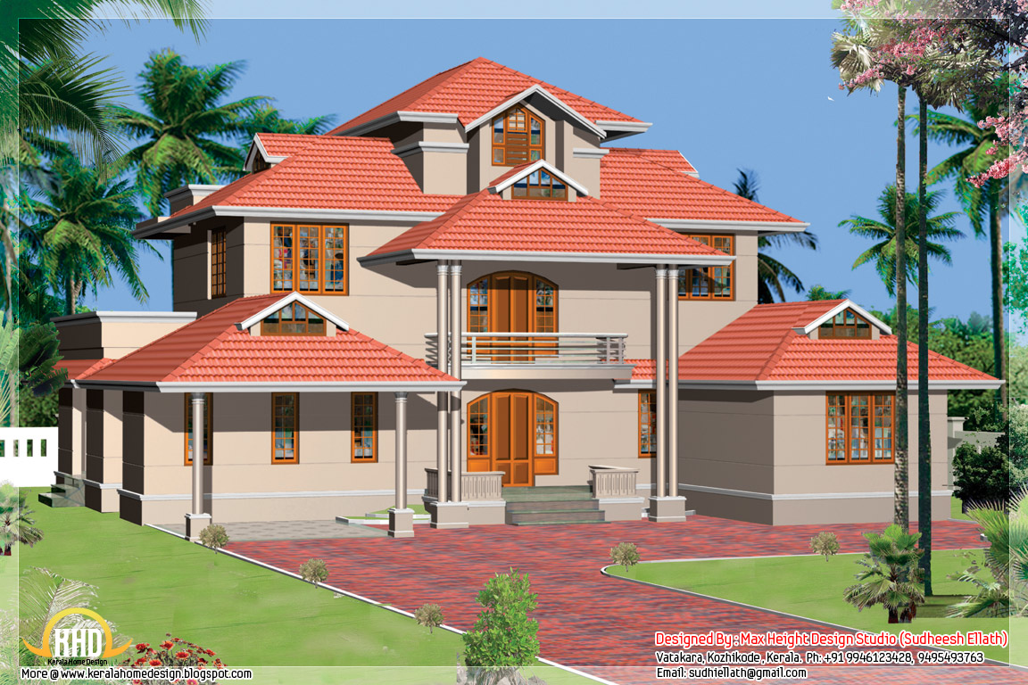 Kerala home designs 18737 hd wallpapers background for Home plan kerala free download