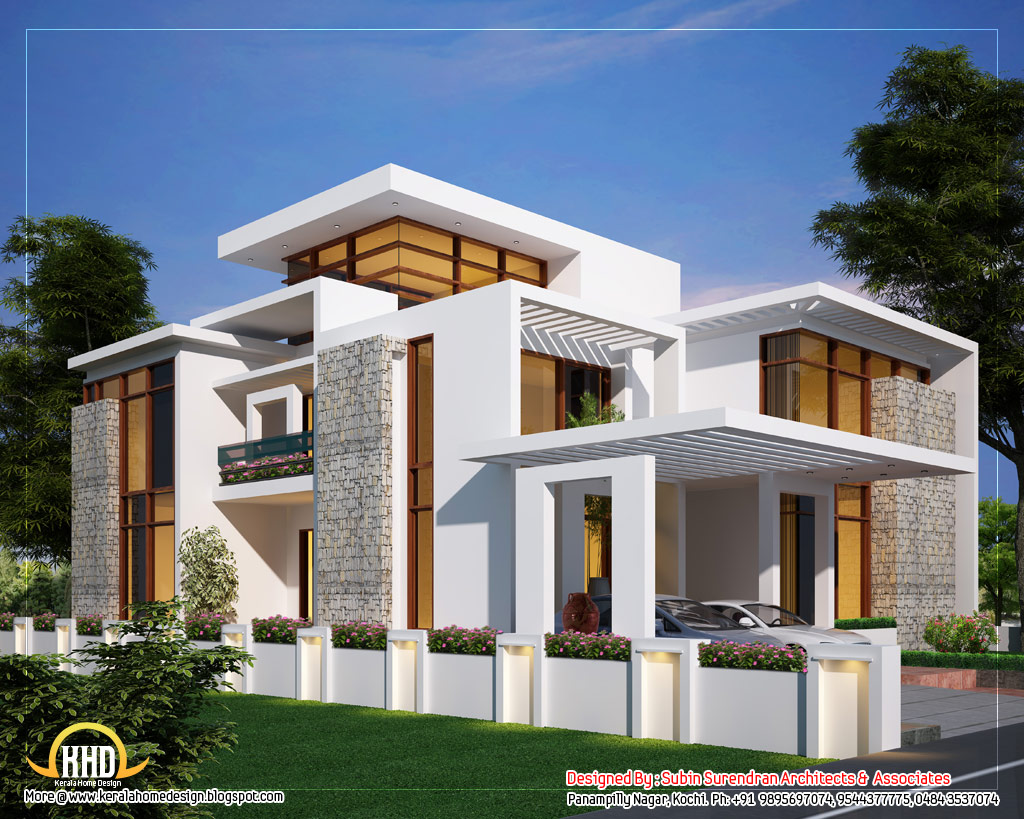 Free download modern home design 92 18308 full size Free contemporary house plans