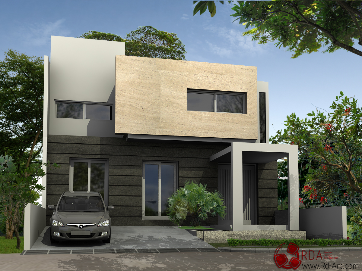 Modern Home Design Plans Wallpaper