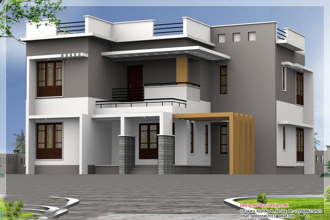 New house designs house ideals for Designers homes