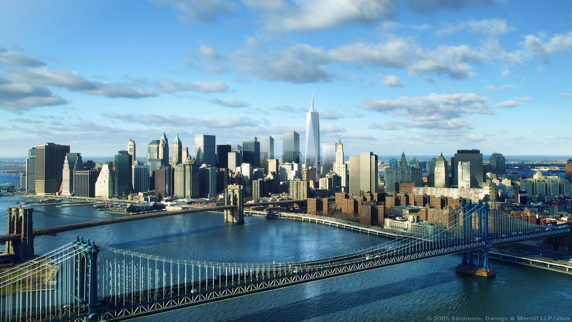 New York 1080p Desktop Wallpaper 1920×1080 Wallpaper