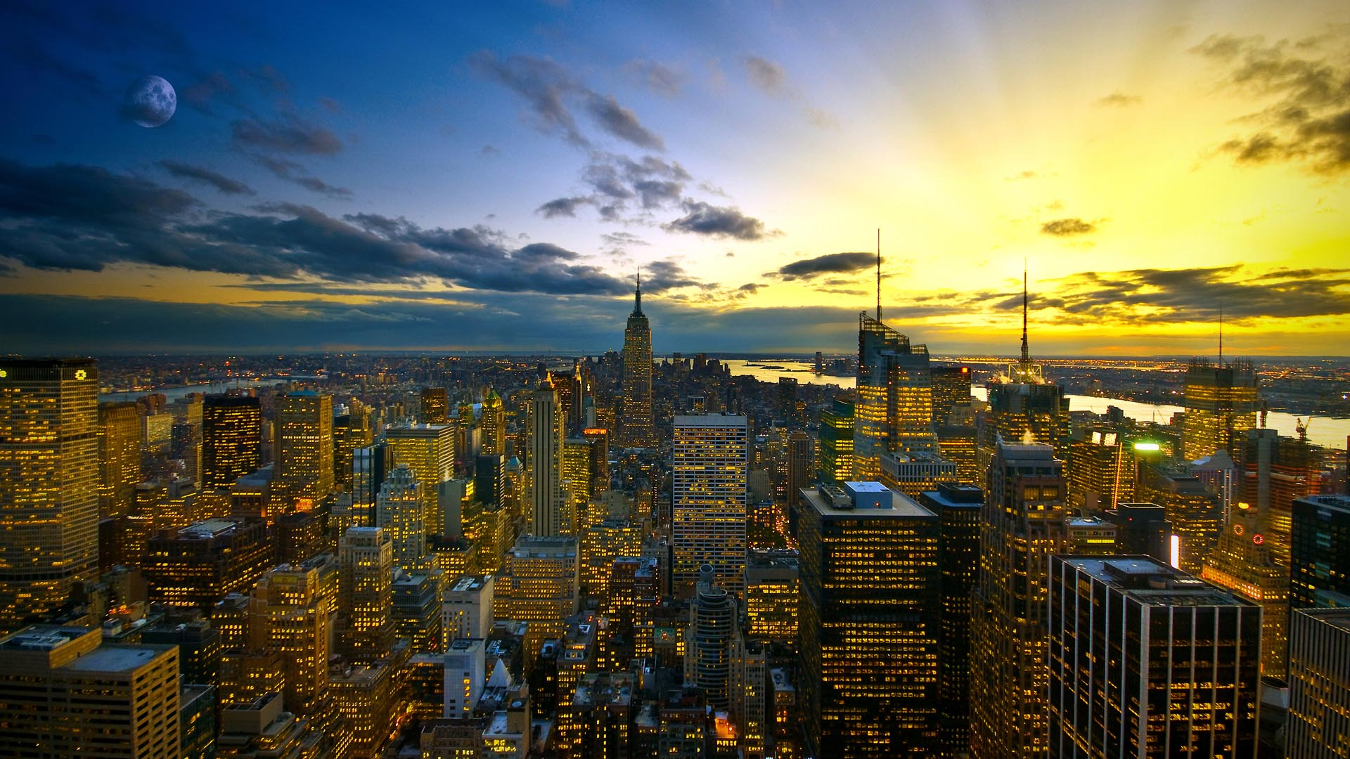 New York 1080p Wallpaper 1920×1080 Nature Wallpaper