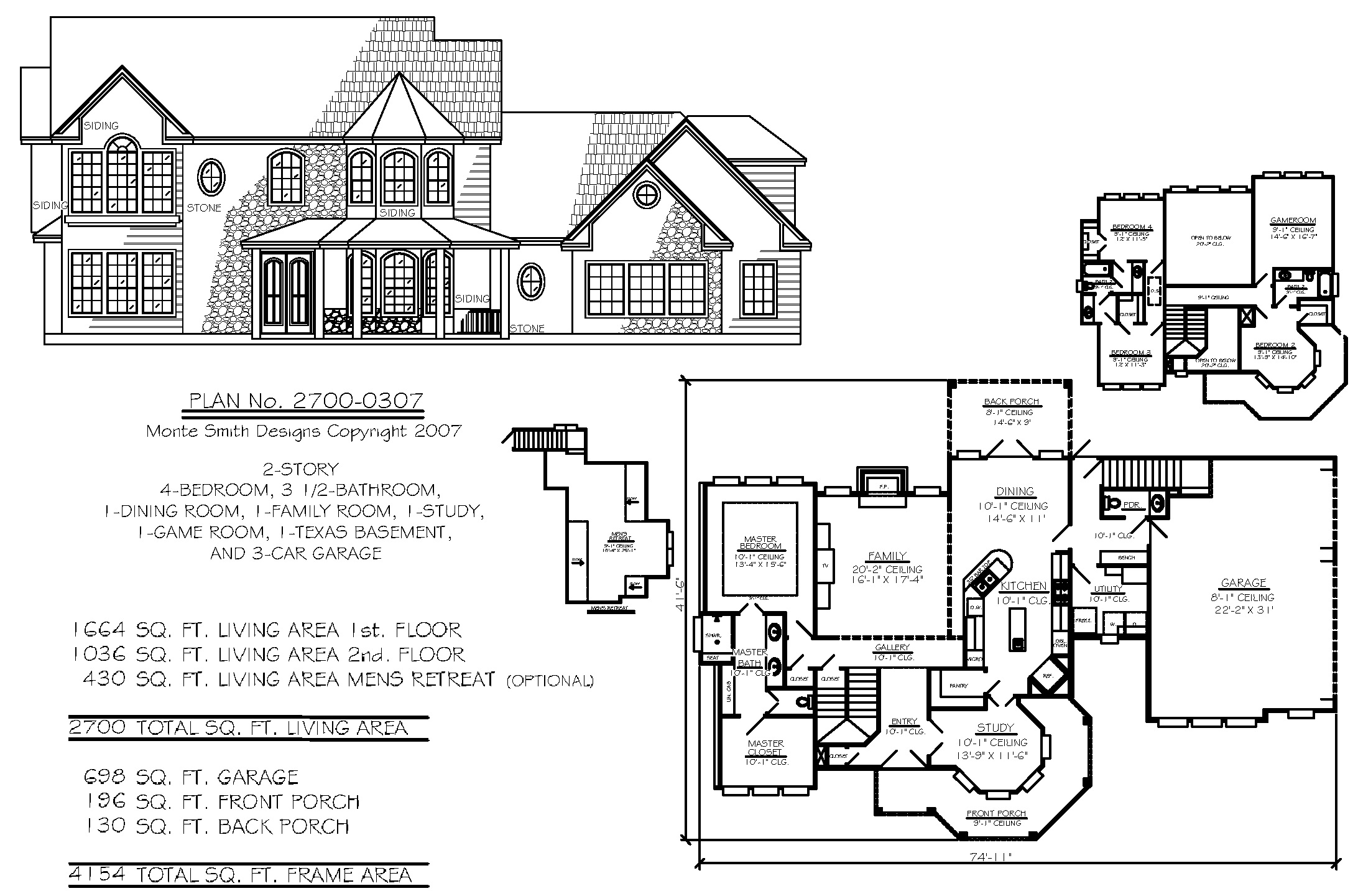 One Story Home Designs Wallpaper