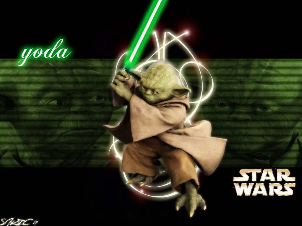 Star Wars Yoda Wallpaper Borders Wallpaper