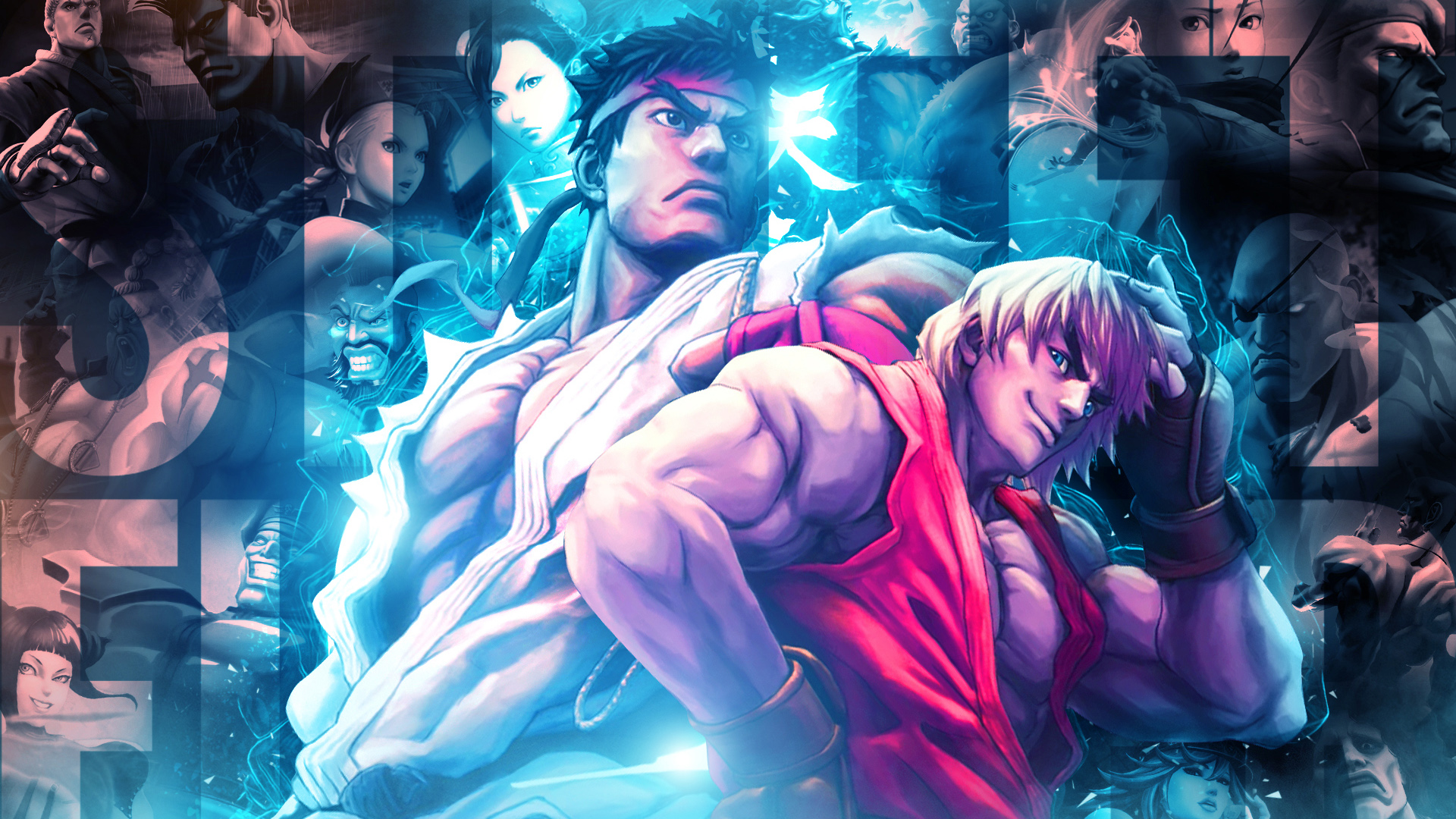 Street Fighter X Tekken 720p Wallpaper 1080p Wallpaper