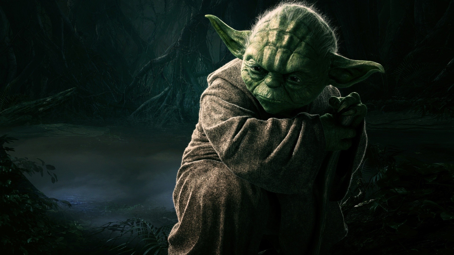 Yoda Fire Hd 1080p Wallpaper Wallpaper