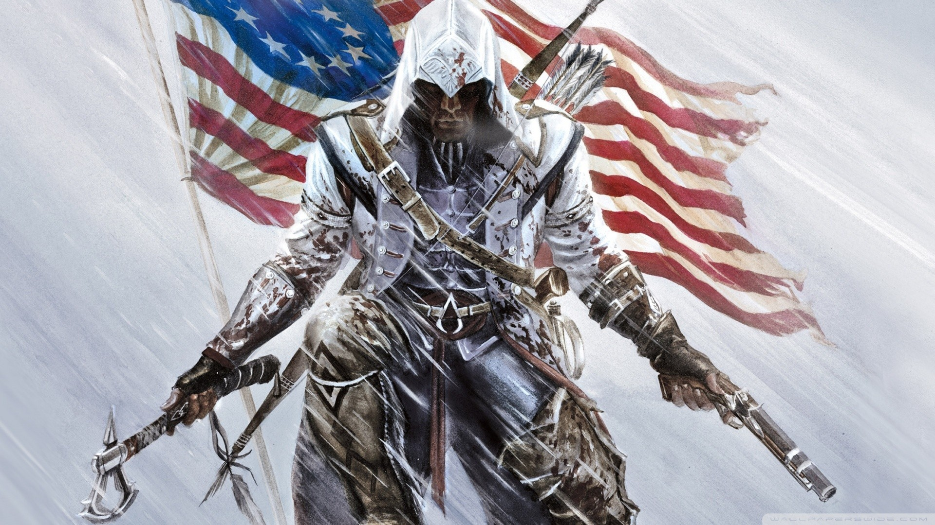 Assassins Creed 3 Background Wallpaper
