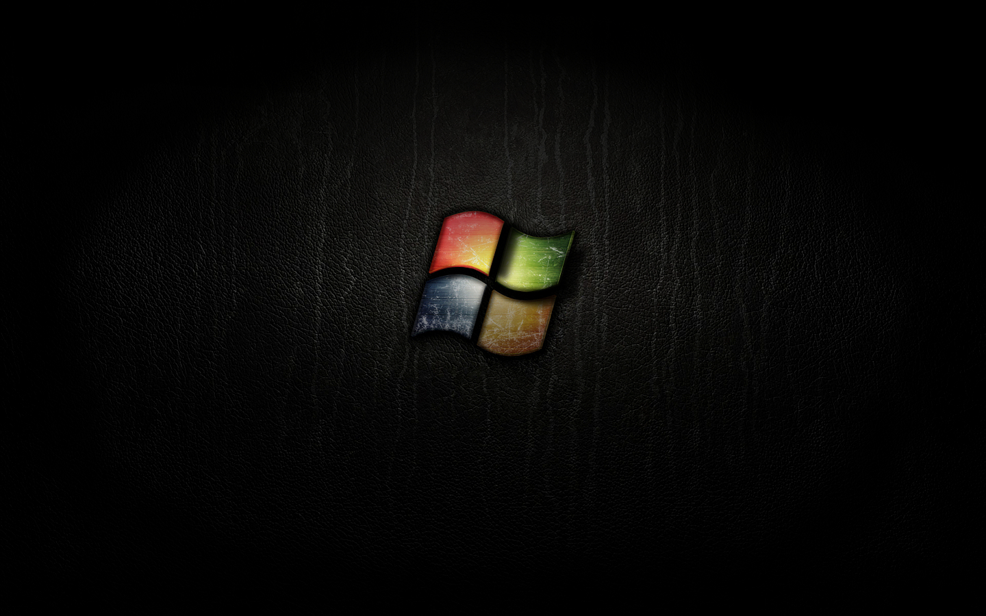 Windows 7 black wallpaper