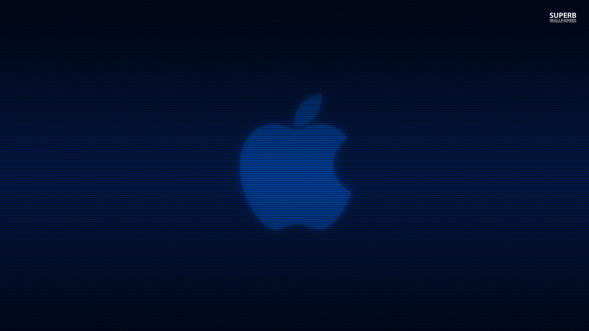 Blue Apple Wallpaper Wallpaper