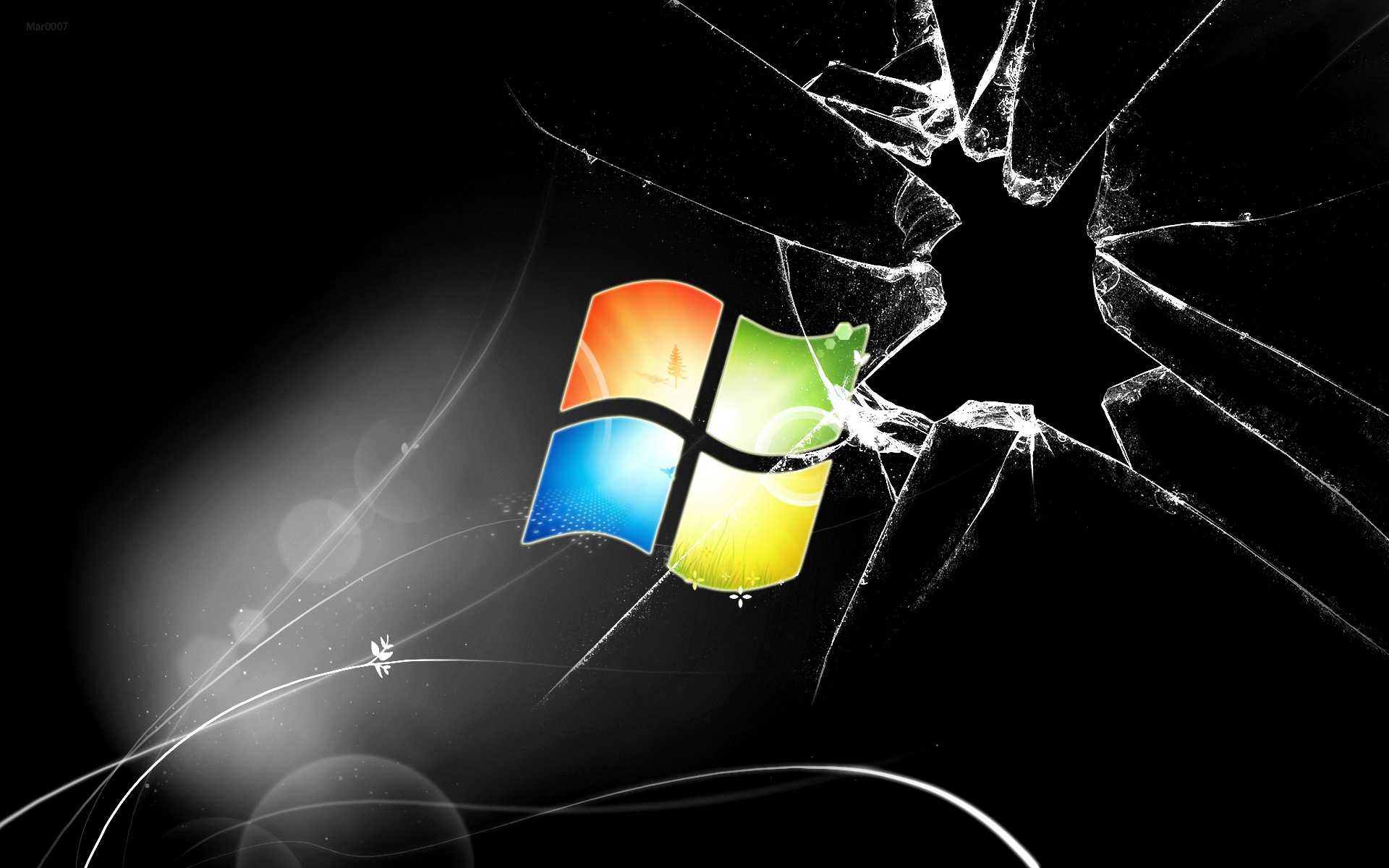 Broken Windows Wallpaper Wallpaper
